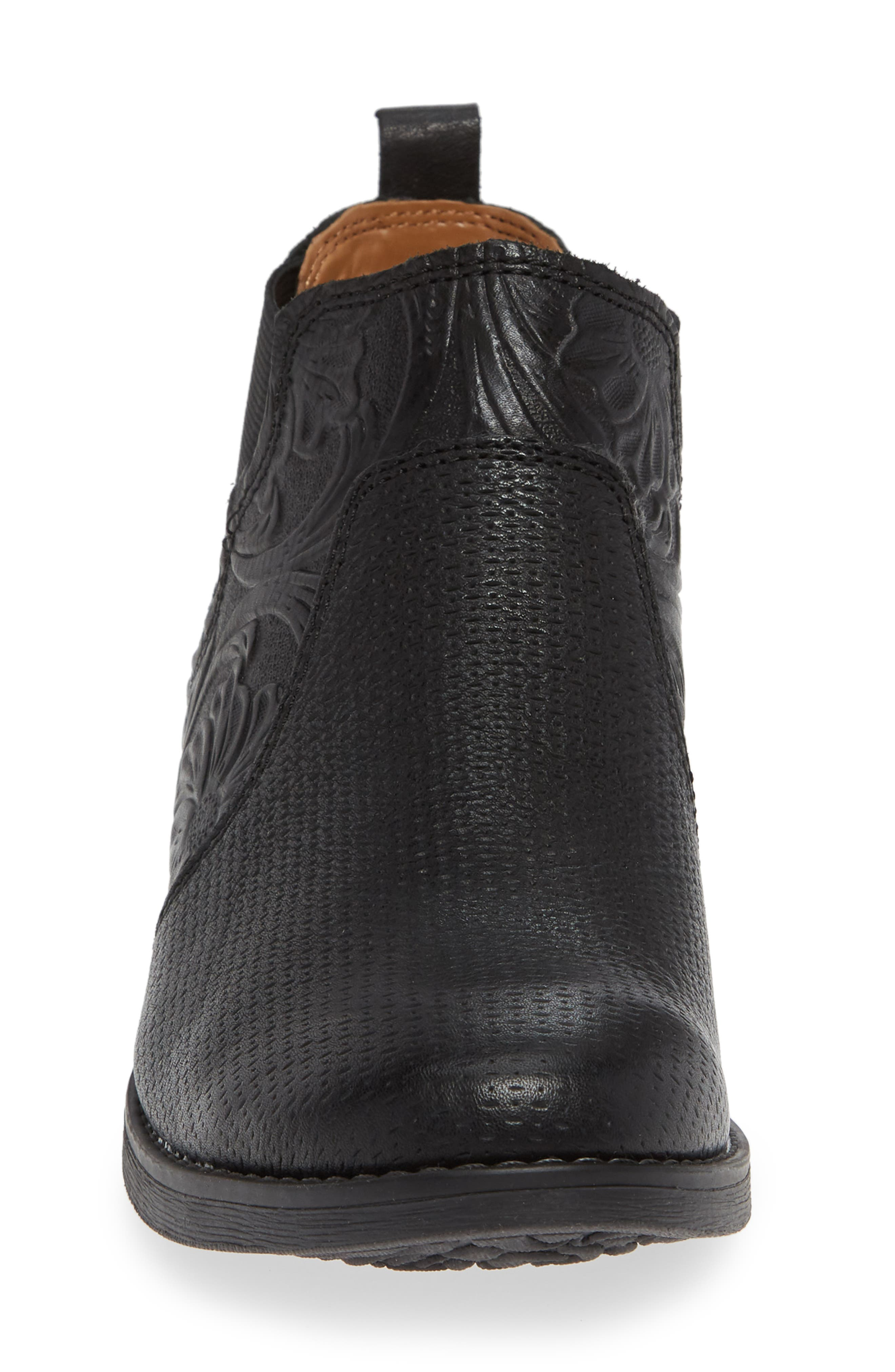 Tenny Bootie,                             Alternate thumbnail 4, color,                             BLACK