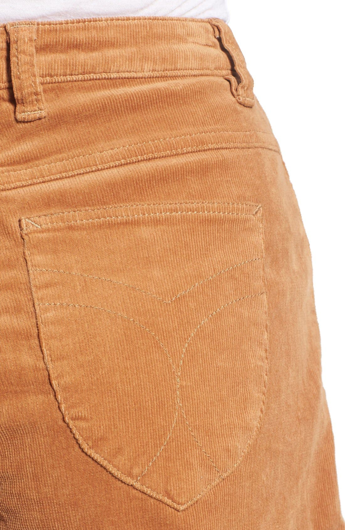 Corduroy Roll Cuff Shorts,                             Alternate thumbnail 3, color,                             200
