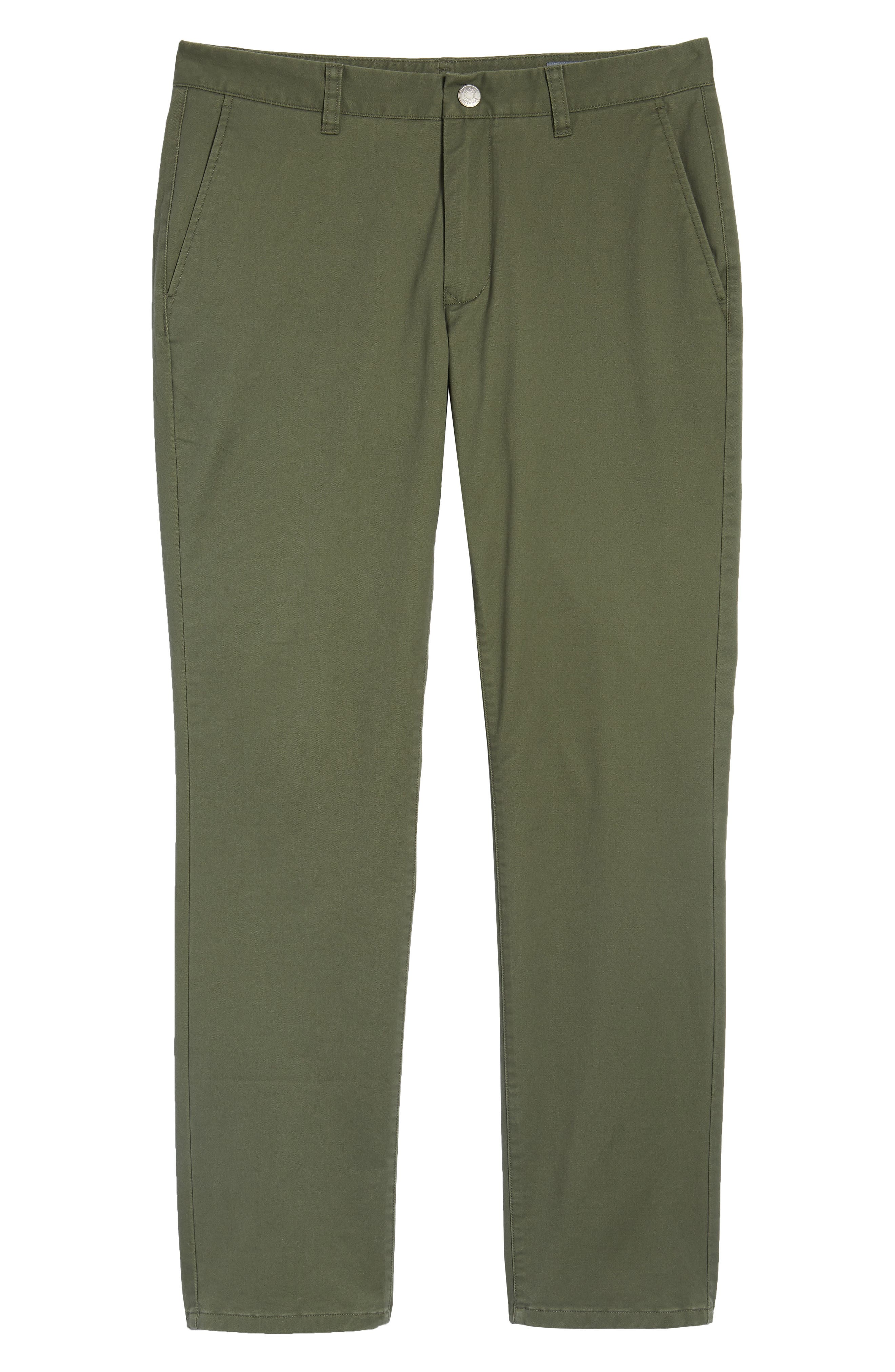 Tailored Fit Washed Stretch Cotton Chinos,                             Alternate thumbnail 181, color,