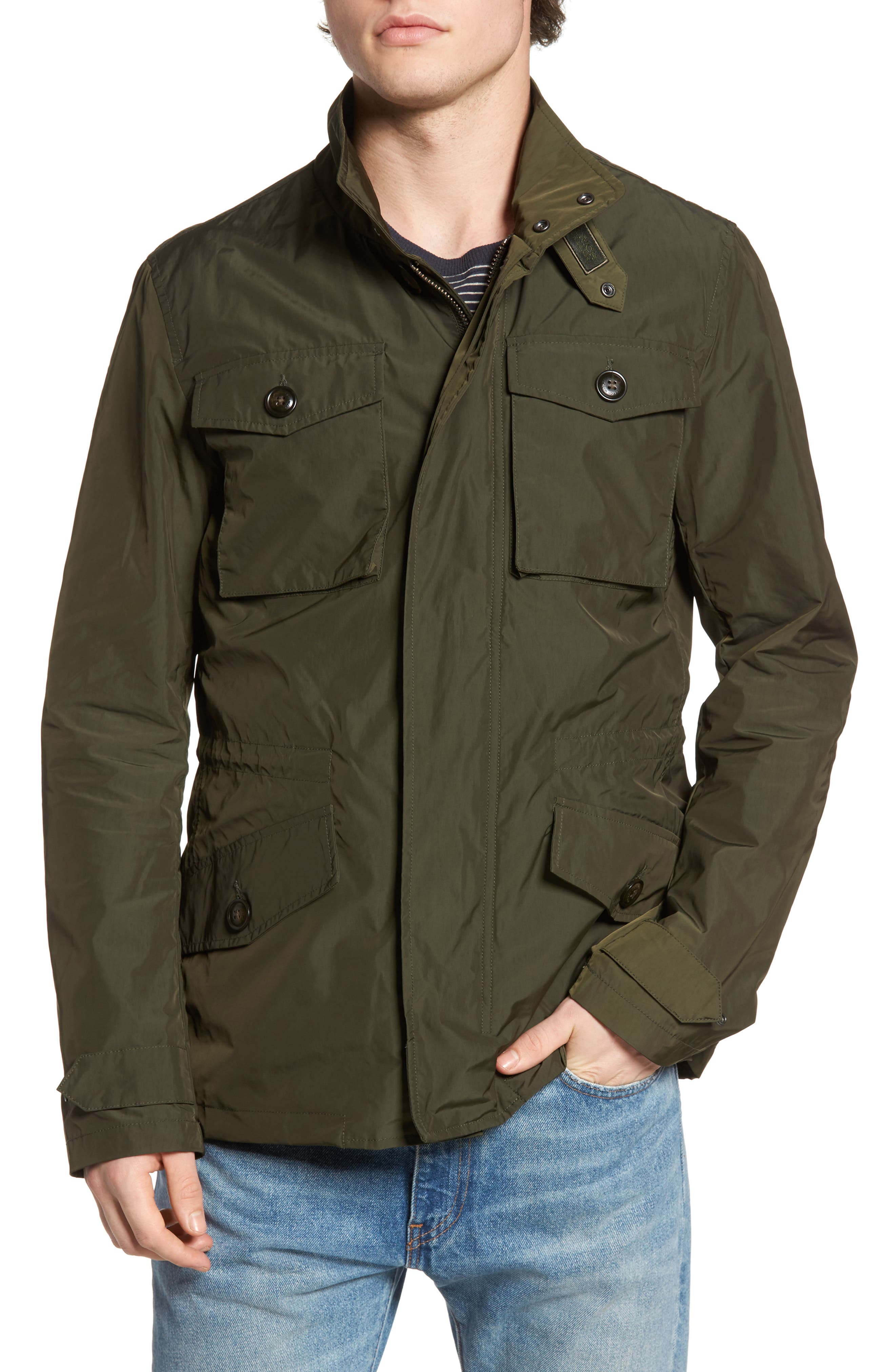 Woolrich John Rich Field Jacket,                             Alternate thumbnail 4, color,