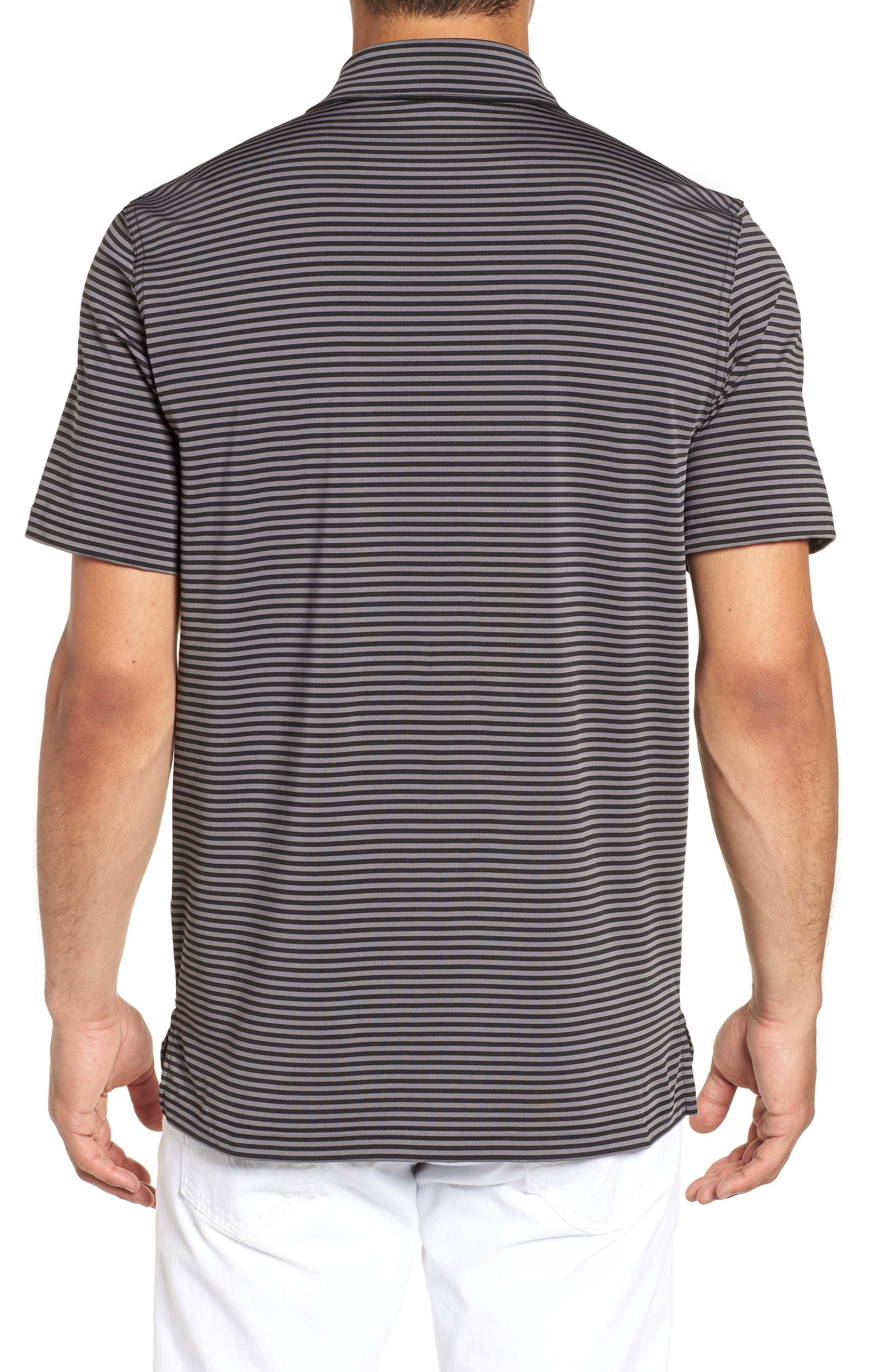 Kennedy Stripe Golf Polo,                             Alternate thumbnail 2, color,                             002