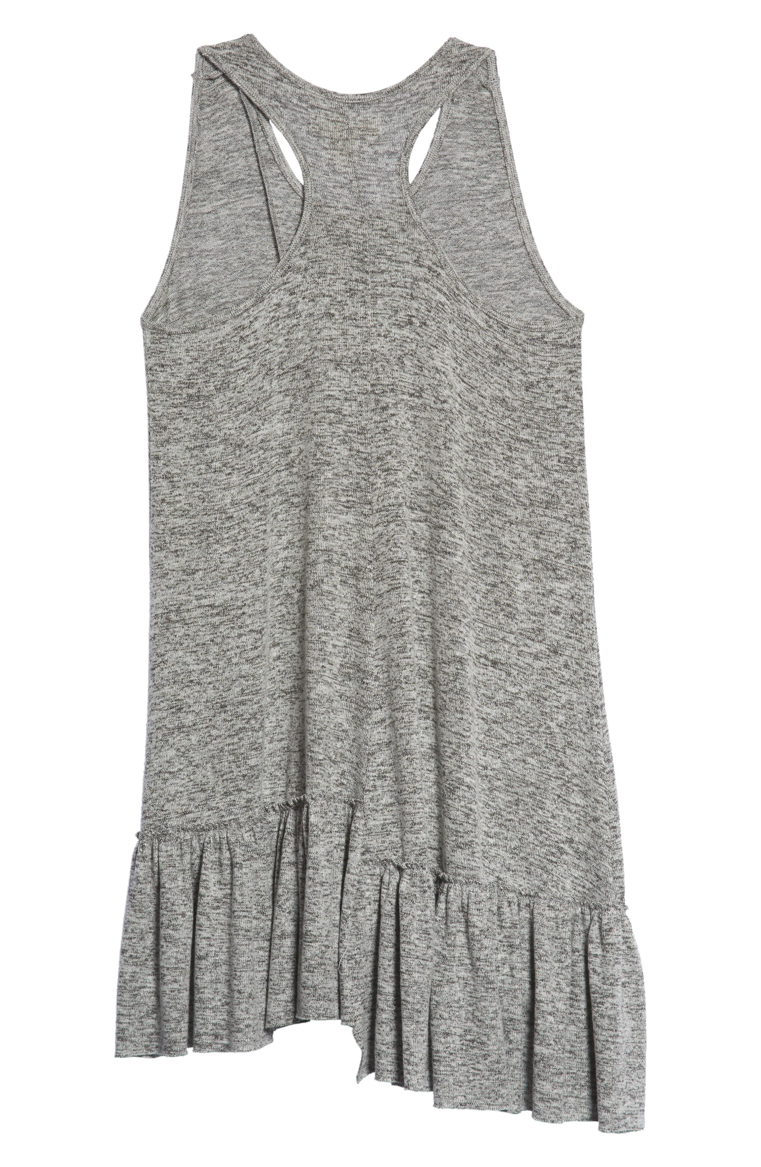 Racerback Knit Dress,                             Alternate thumbnail 2, color,                             050