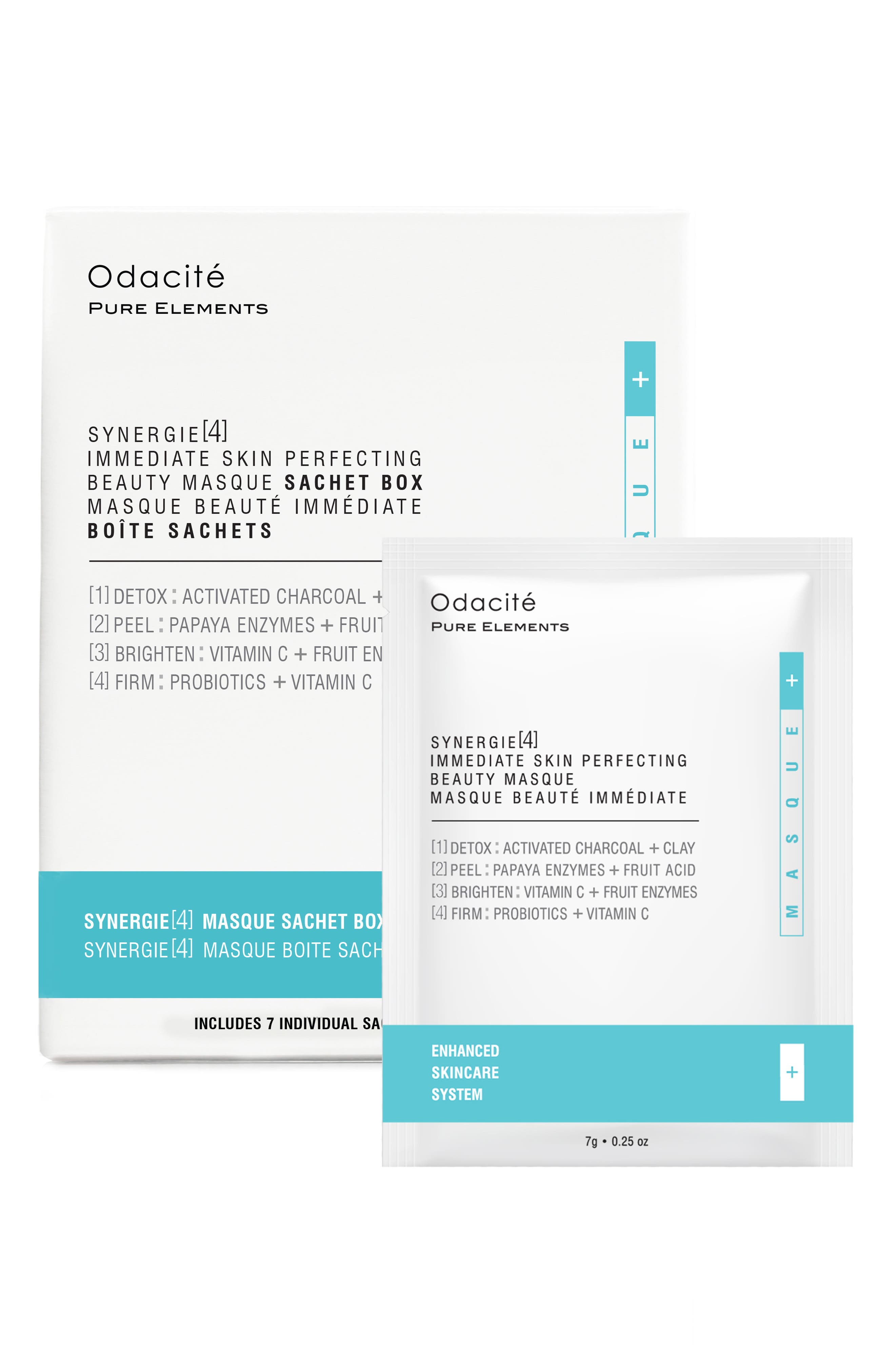 Synergie[4] Immediate Skin Perfecting Beauty Masque Sachet Box Set,                             Alternate thumbnail 3, color,                             NO COLOR