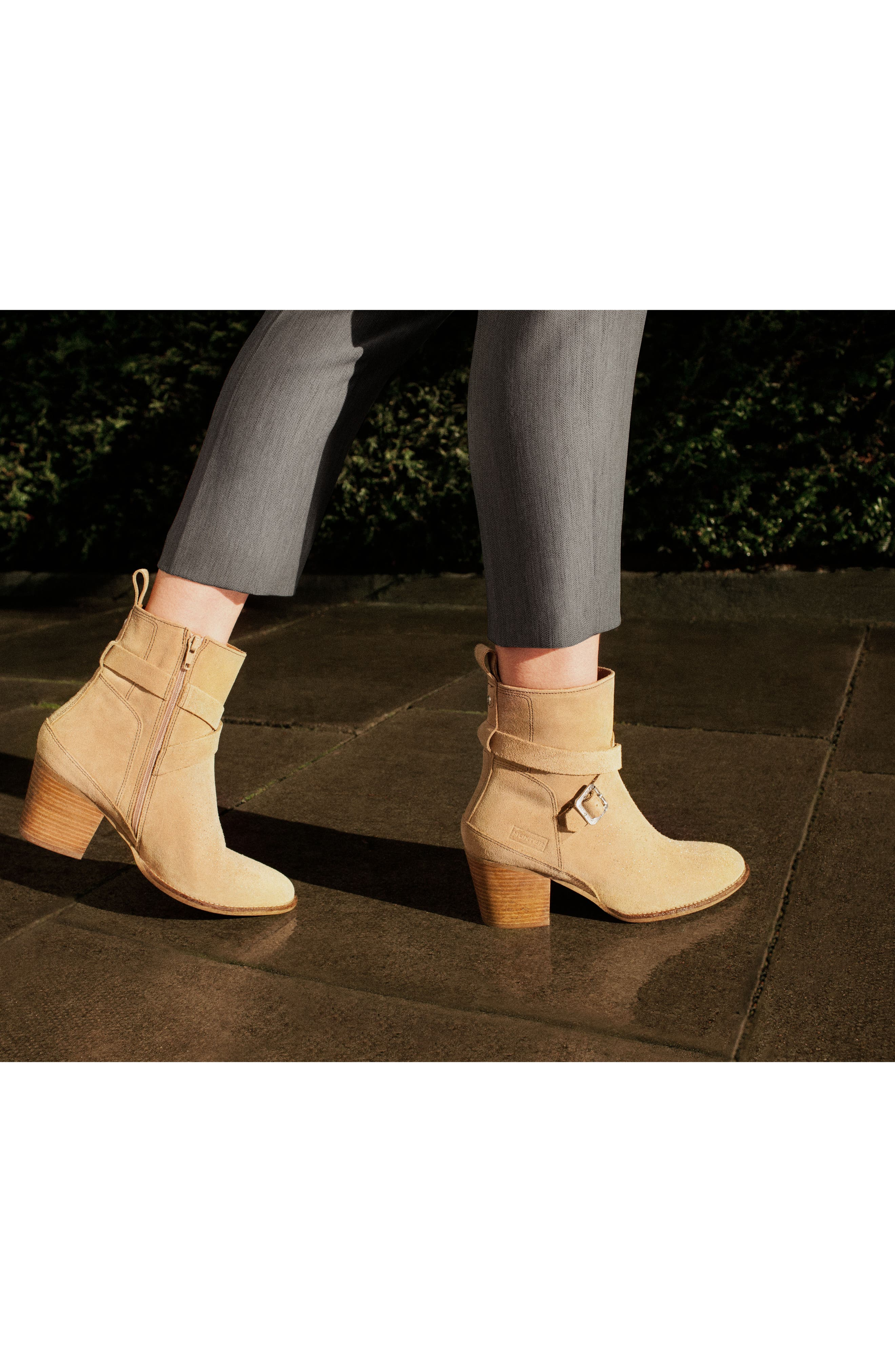 Refined Water Resistant Strappy Boot,                             Alternate thumbnail 14, color,