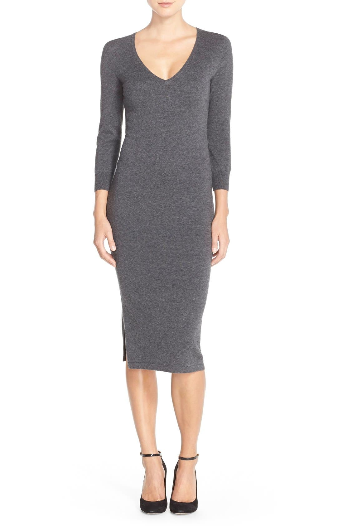 'Bambino' Knit Sweater Dress,                         Main,                         color, 023