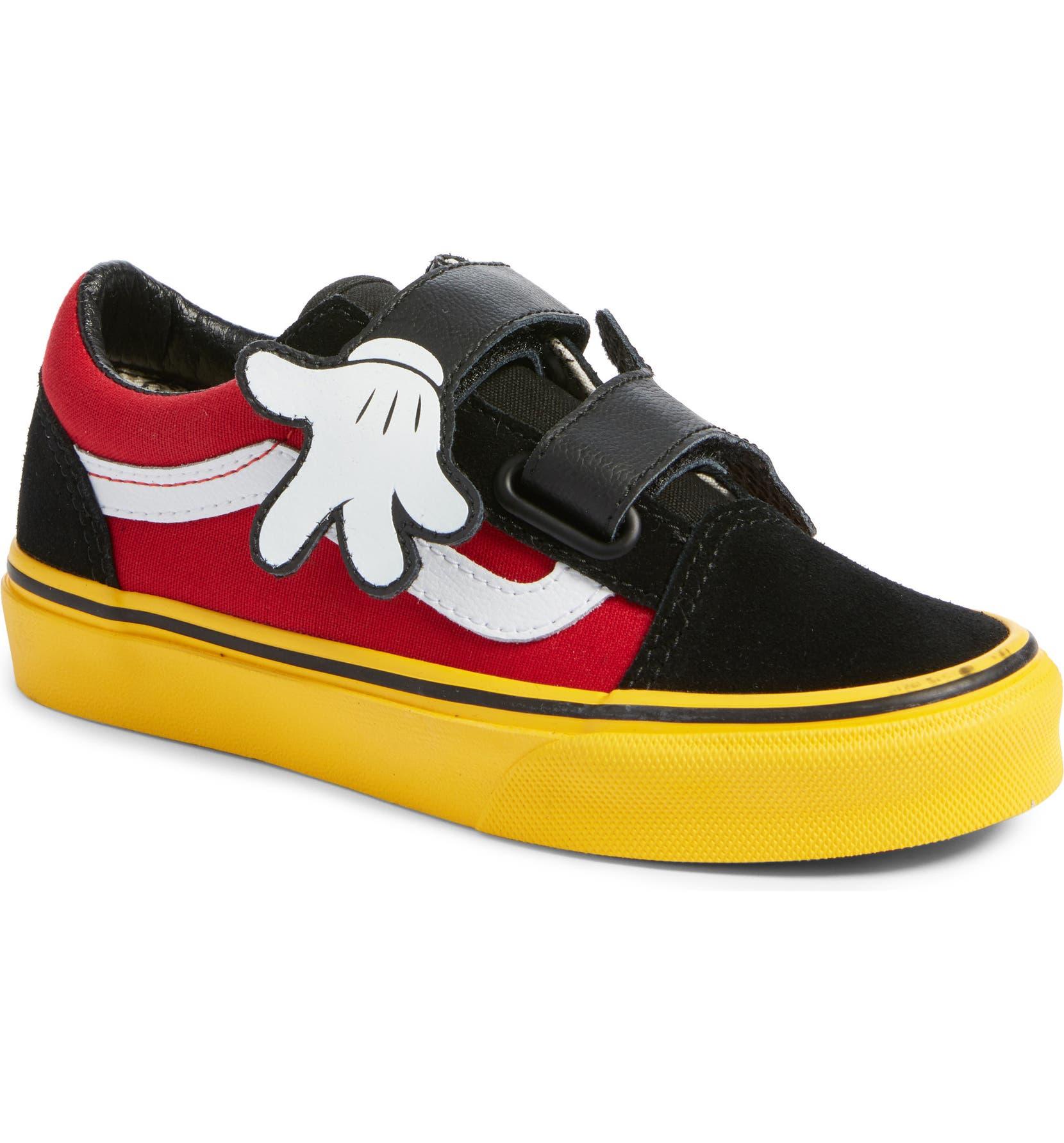 5d3c3d1b2fe950 Vans x Disney Mickey Mouse Old Skool V Sneaker (Baby