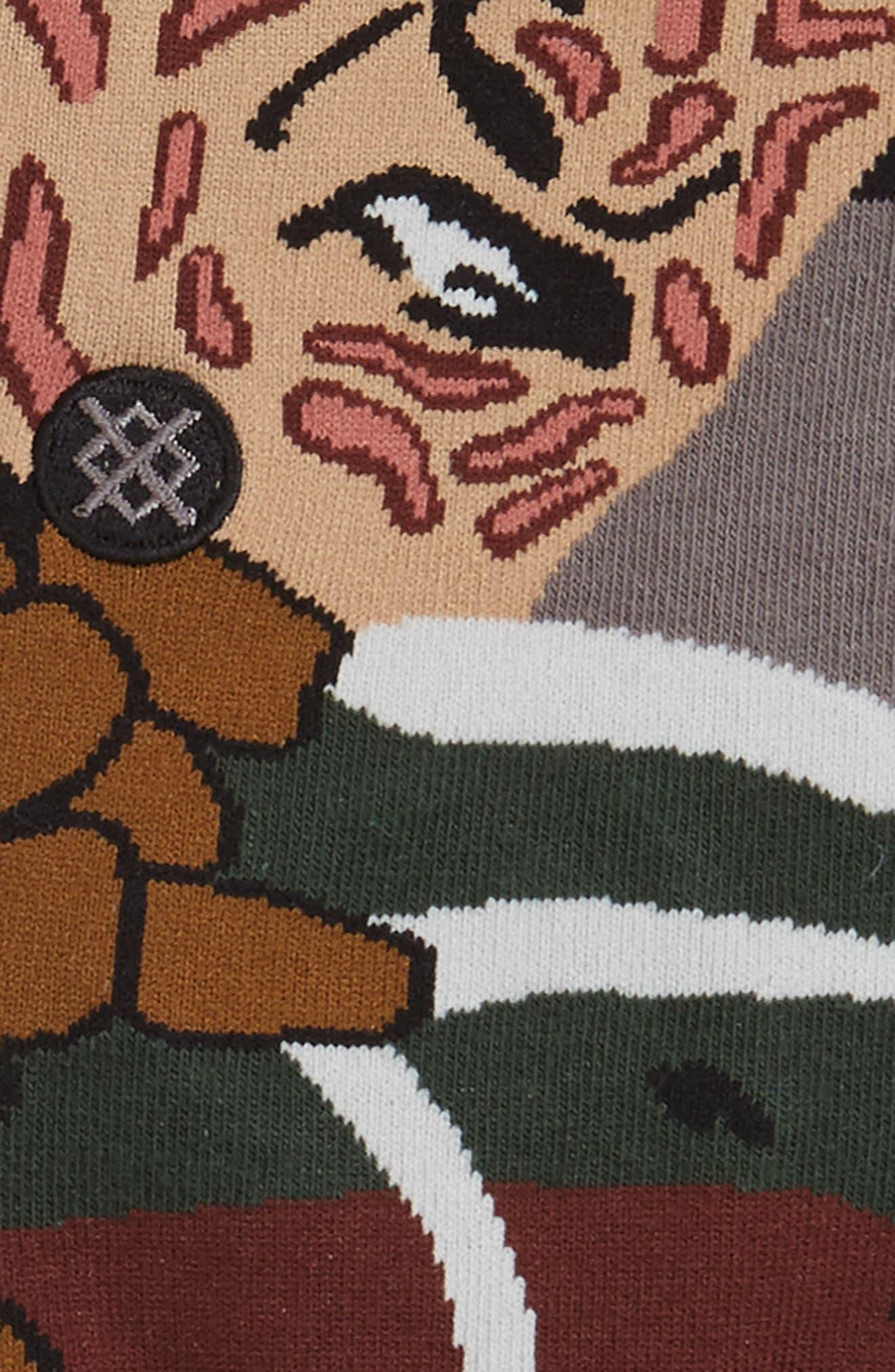 Freddy Krueger - Legends of Horror Socks,                             Alternate thumbnail 2, color,
