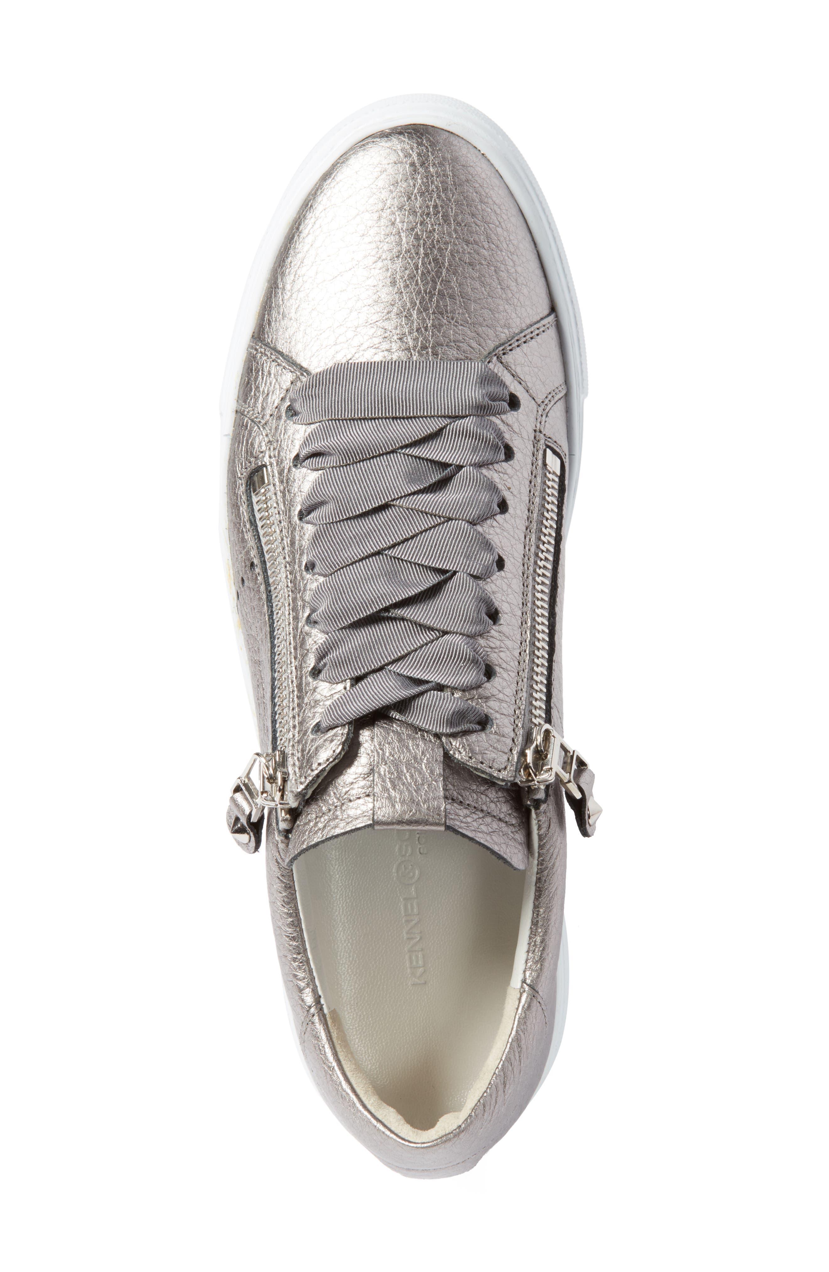 Kennel & Schmenger Big Low Top Platform Sneaker,                             Alternate thumbnail 5, color,                             020