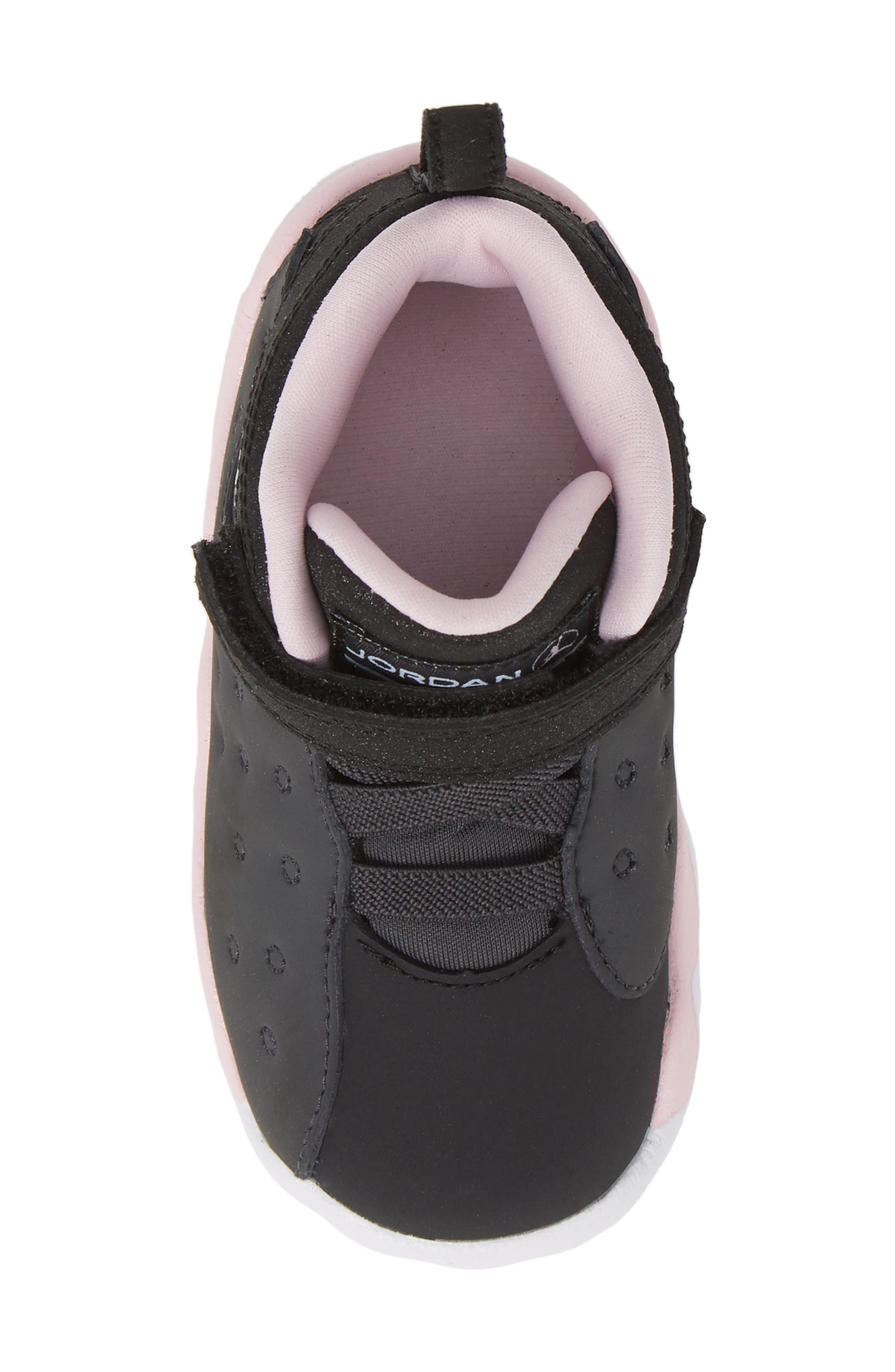 Jumpman Team II Sneaker,                             Alternate thumbnail 5, color,                             ANTHRACITE/ BLACK-PINK -WHITE