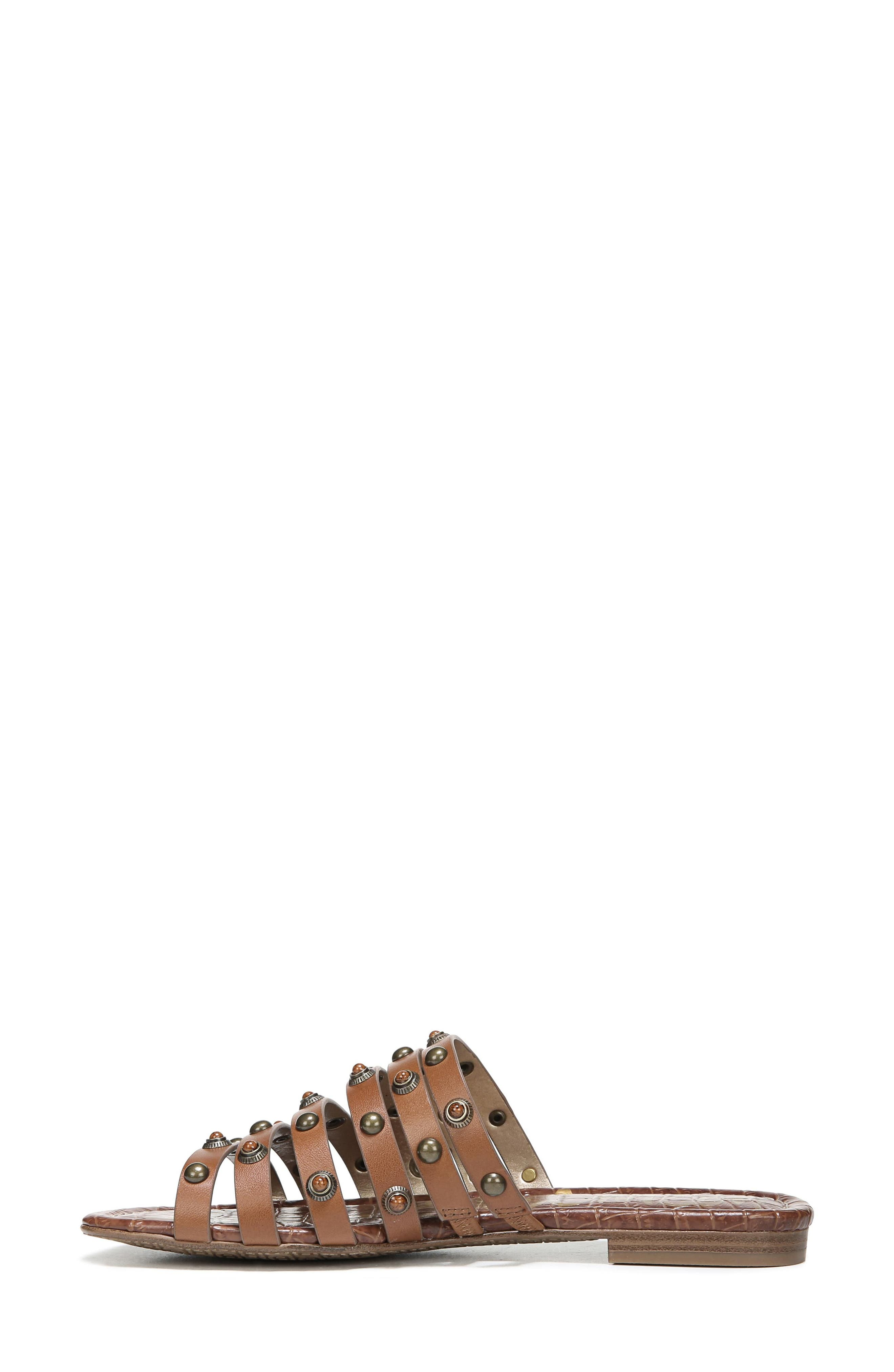 Brea Studded Slide Sandal,                             Alternate thumbnail 9, color,