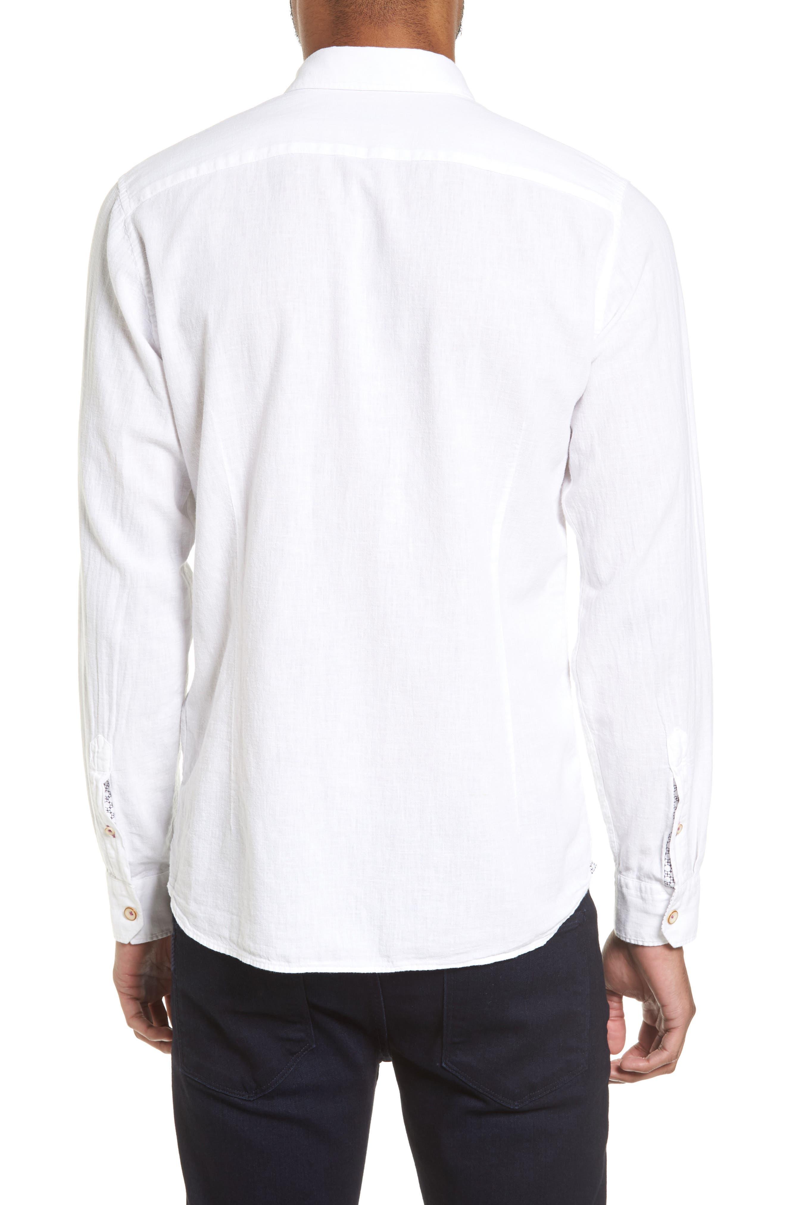 Carwash Modern Slim Fit Sport Shirt,                             Alternate thumbnail 4, color,