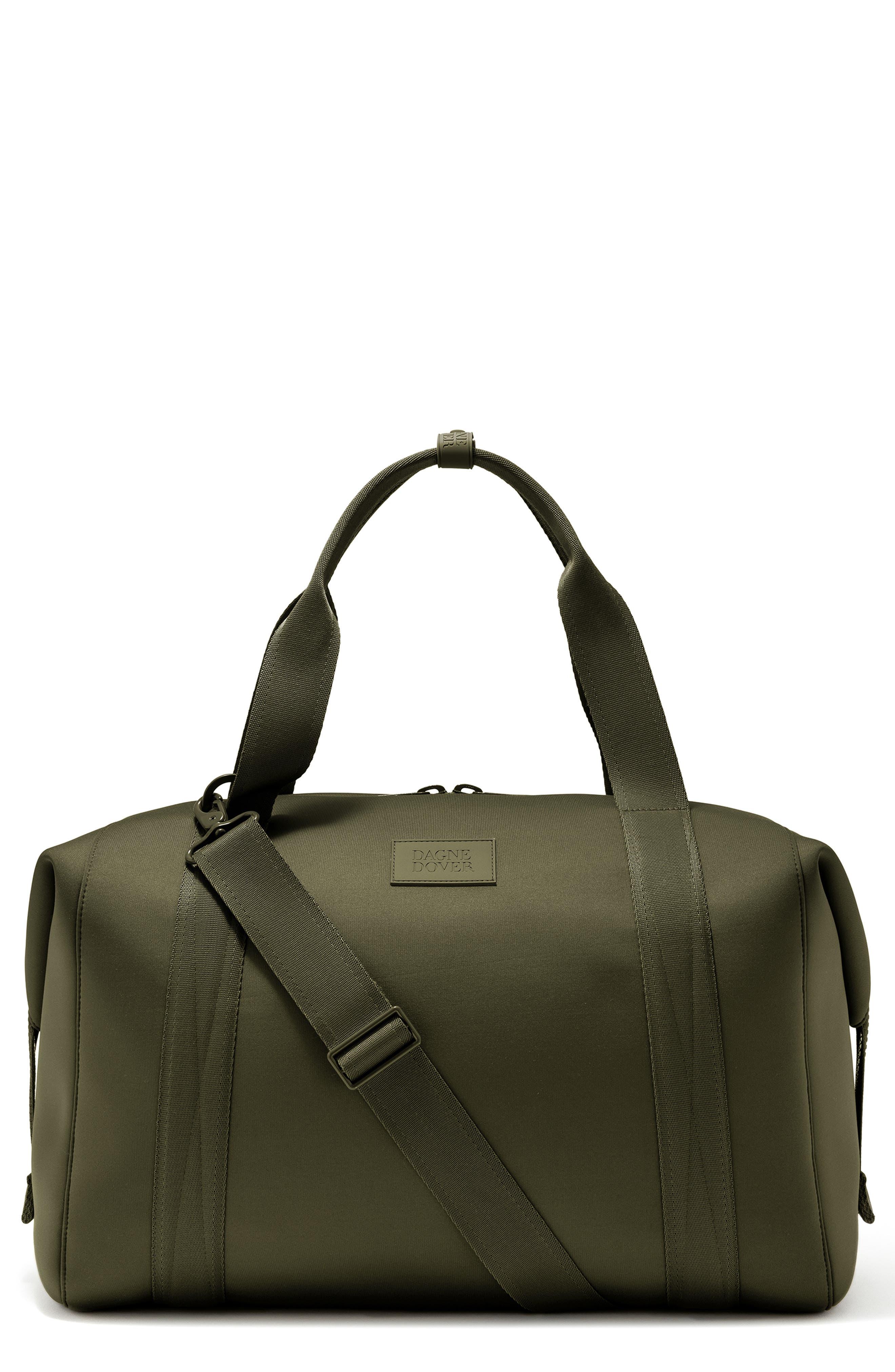 DAGNE DOVER Xl Landon Carryall Duffel Bag - Green in Dark Moss