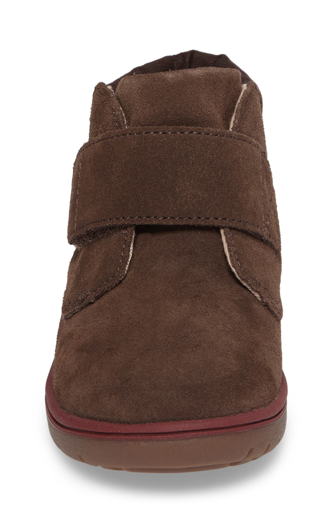 SRtech<sup>™</sup> Lincoln Bootie,                             Alternate thumbnail 4, color,                             BROWN SUEDE