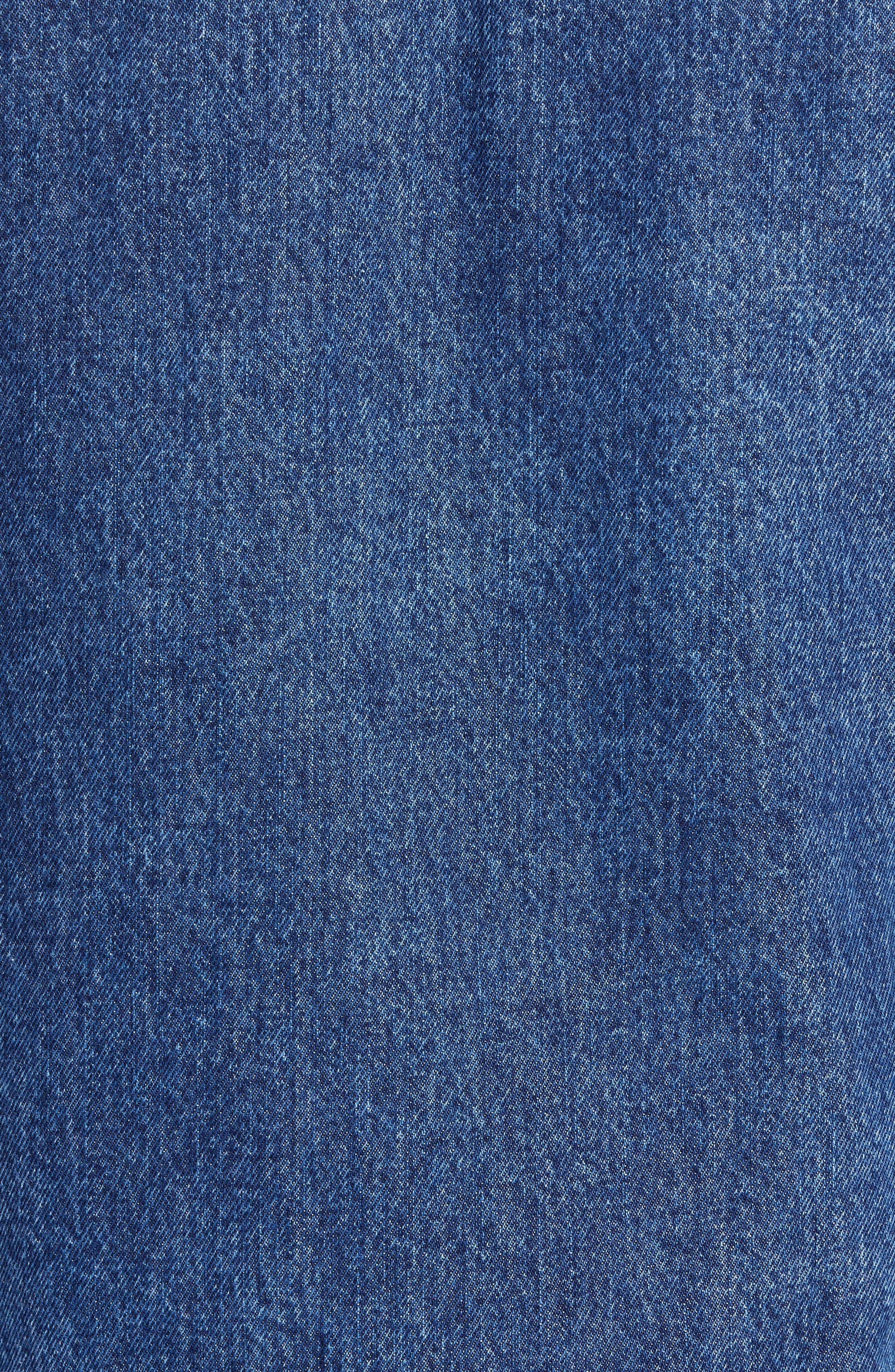 CALVIN KLEIN JEANS,                             Patch One-Pocket Denim Jacket,                             Alternate thumbnail 7, color,                             400