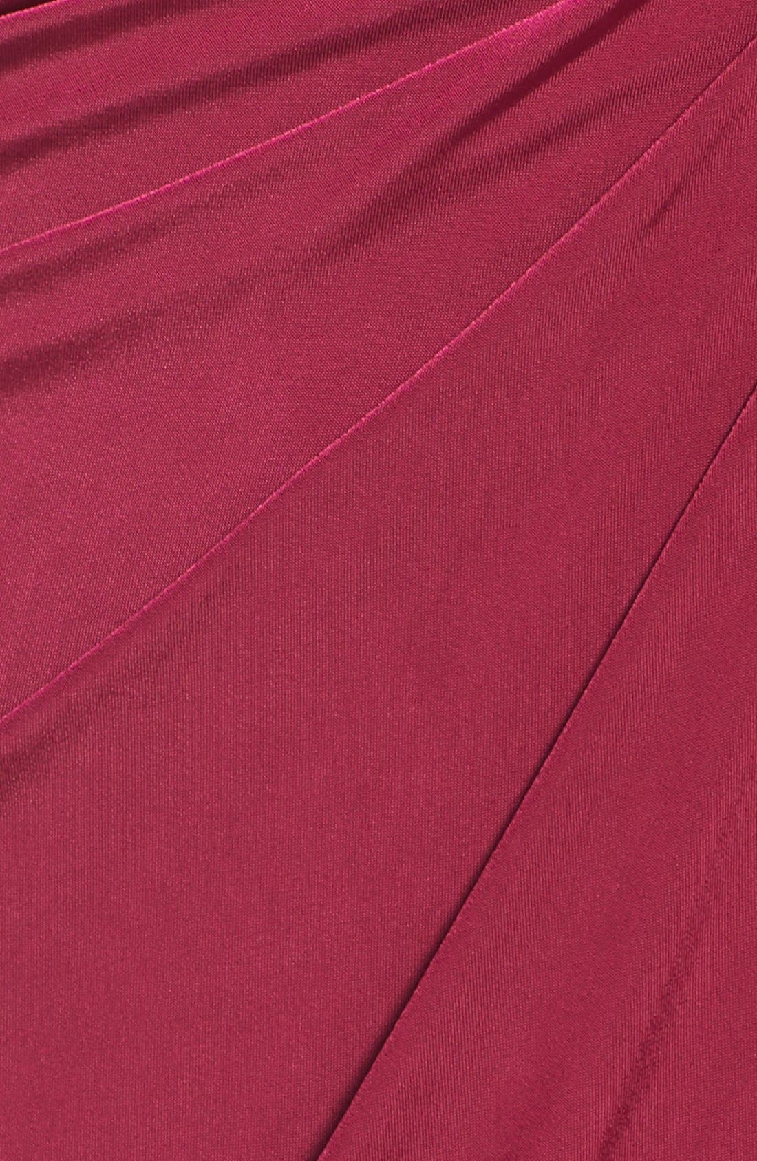 Jersey Halter Dress,                             Alternate thumbnail 6, color,                             935