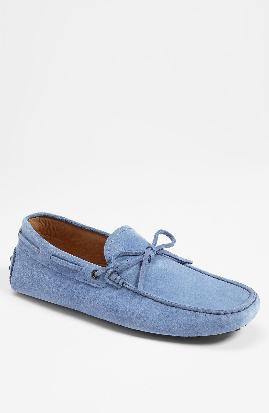 Gommini Tie Front Driving Moccasin,                             Main thumbnail 9, color,