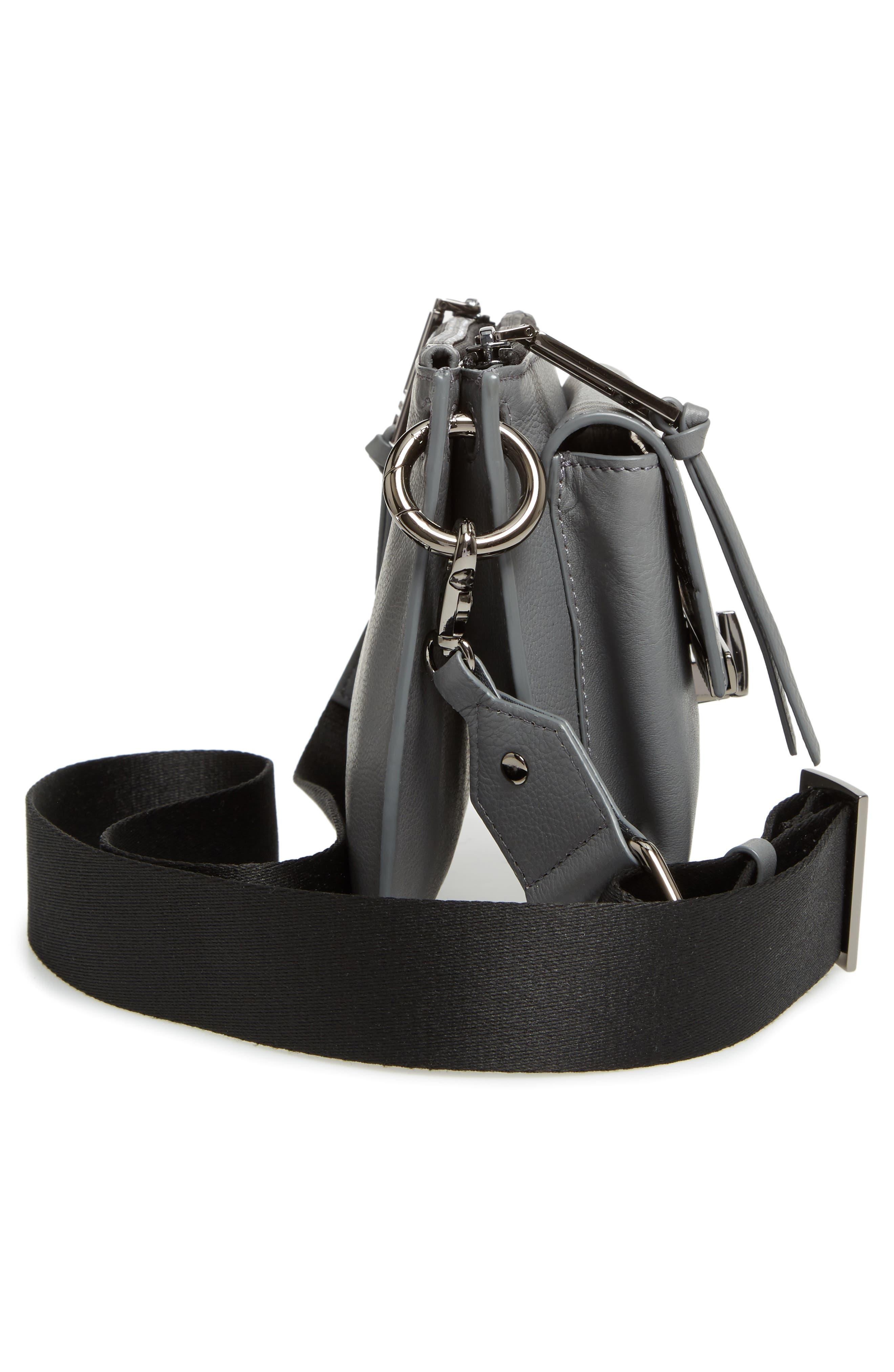 Bleeker Leather Double Shoulder Bag,                             Alternate thumbnail 27, color,