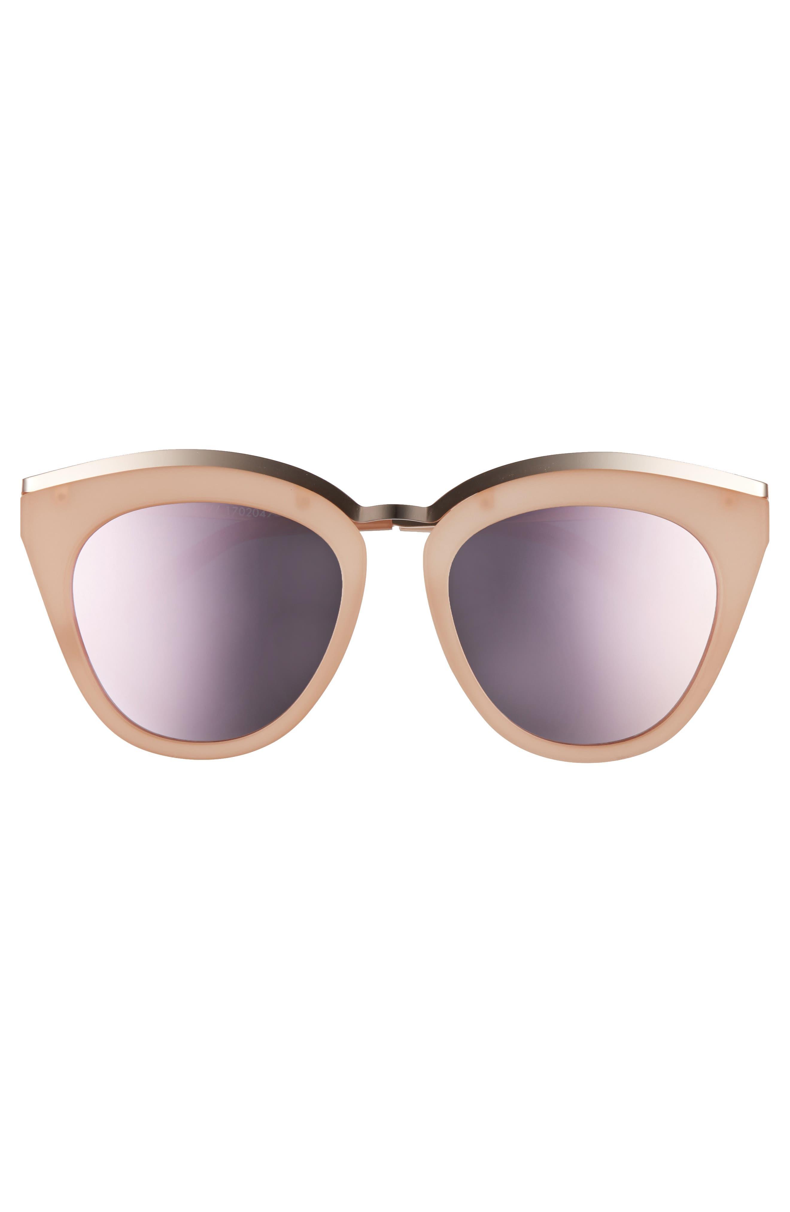 Eye Slay 52mm Cat Eye Sunglasses,                             Alternate thumbnail 6, color,
