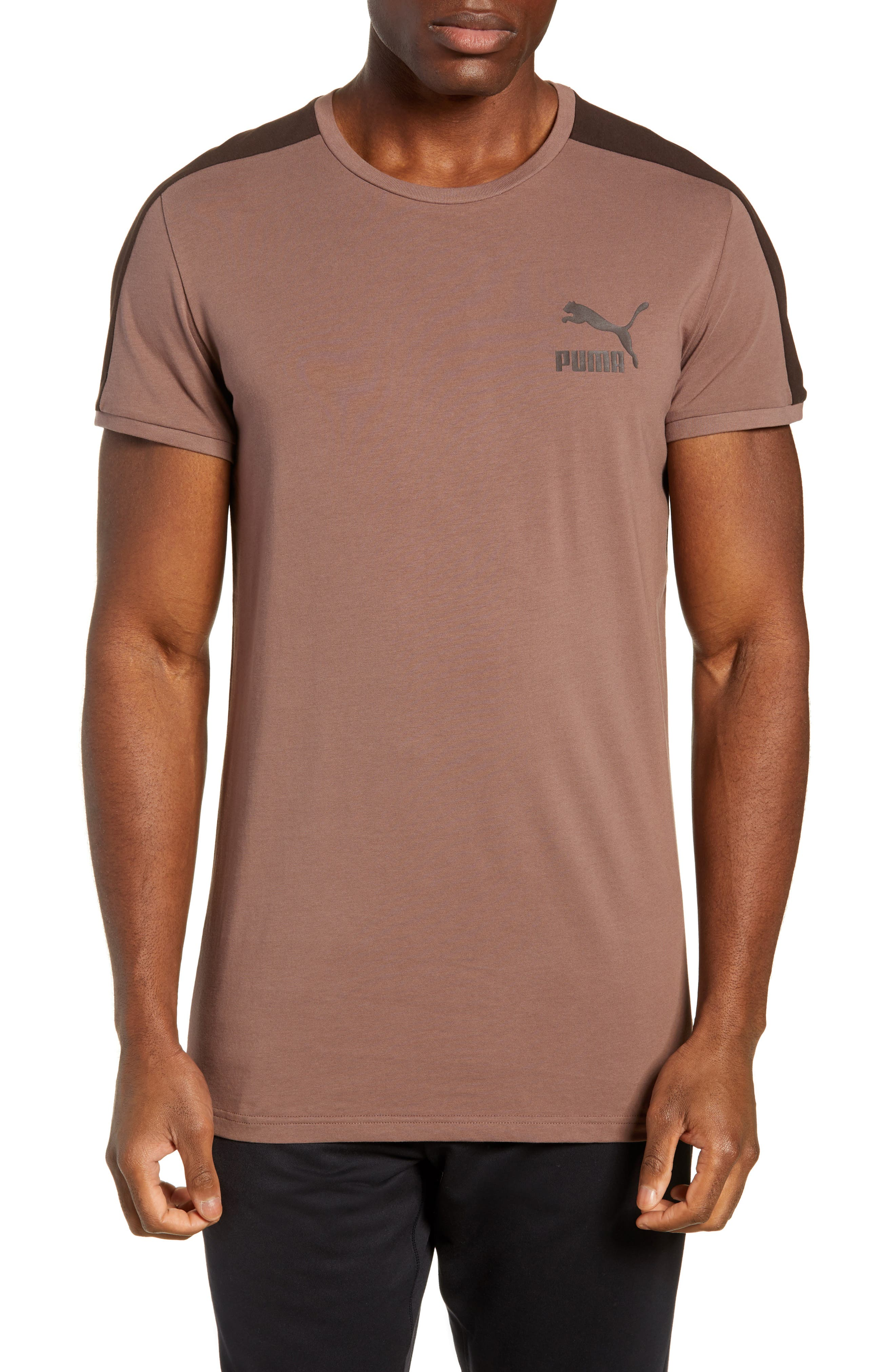 Classics Slim T7 T-Shirt,                         Main,                         color, MEDIUM GRAY HEATHER