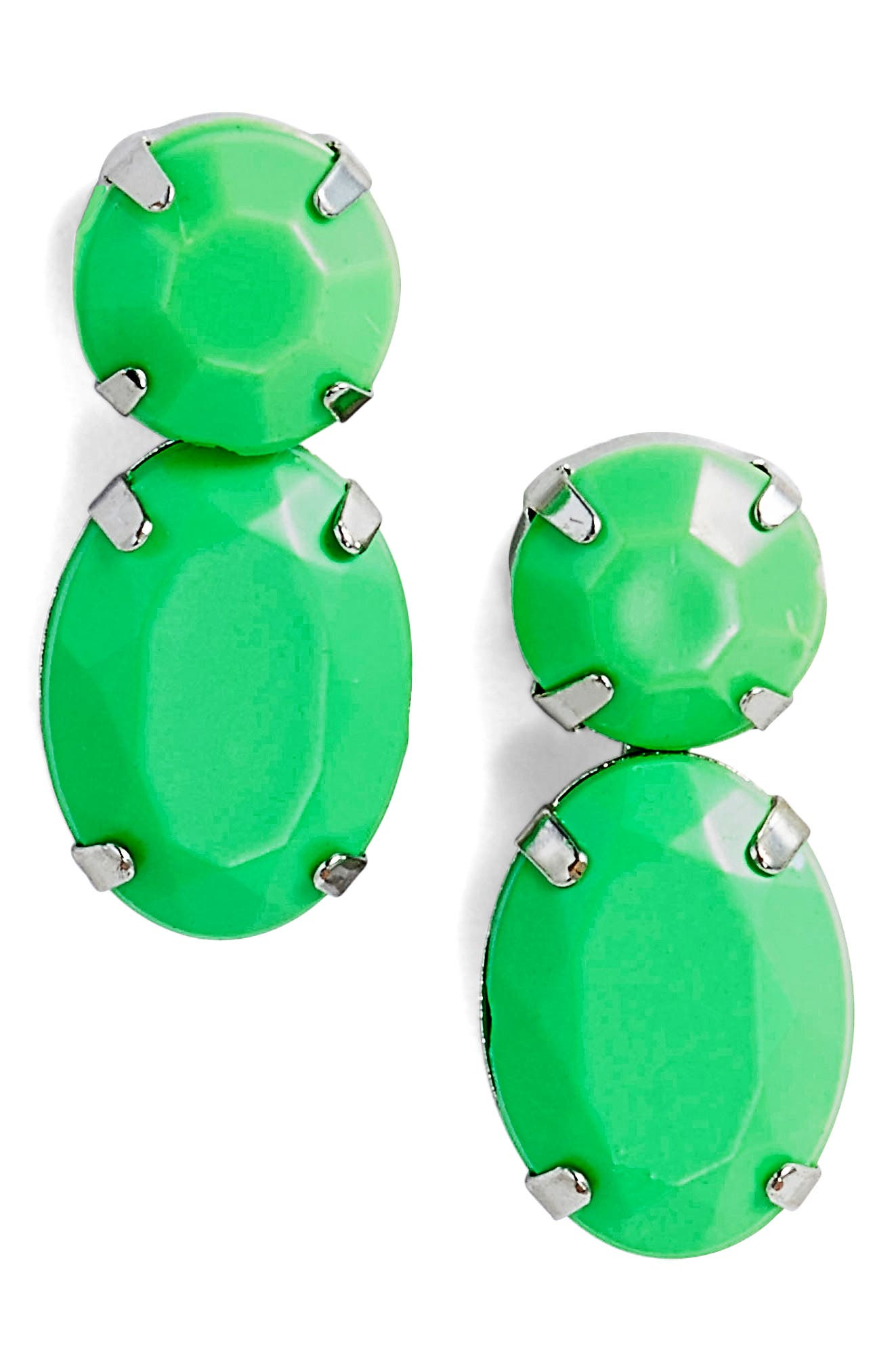 Super Bright Stone Earrings,                             Main thumbnail 1, color,                             300