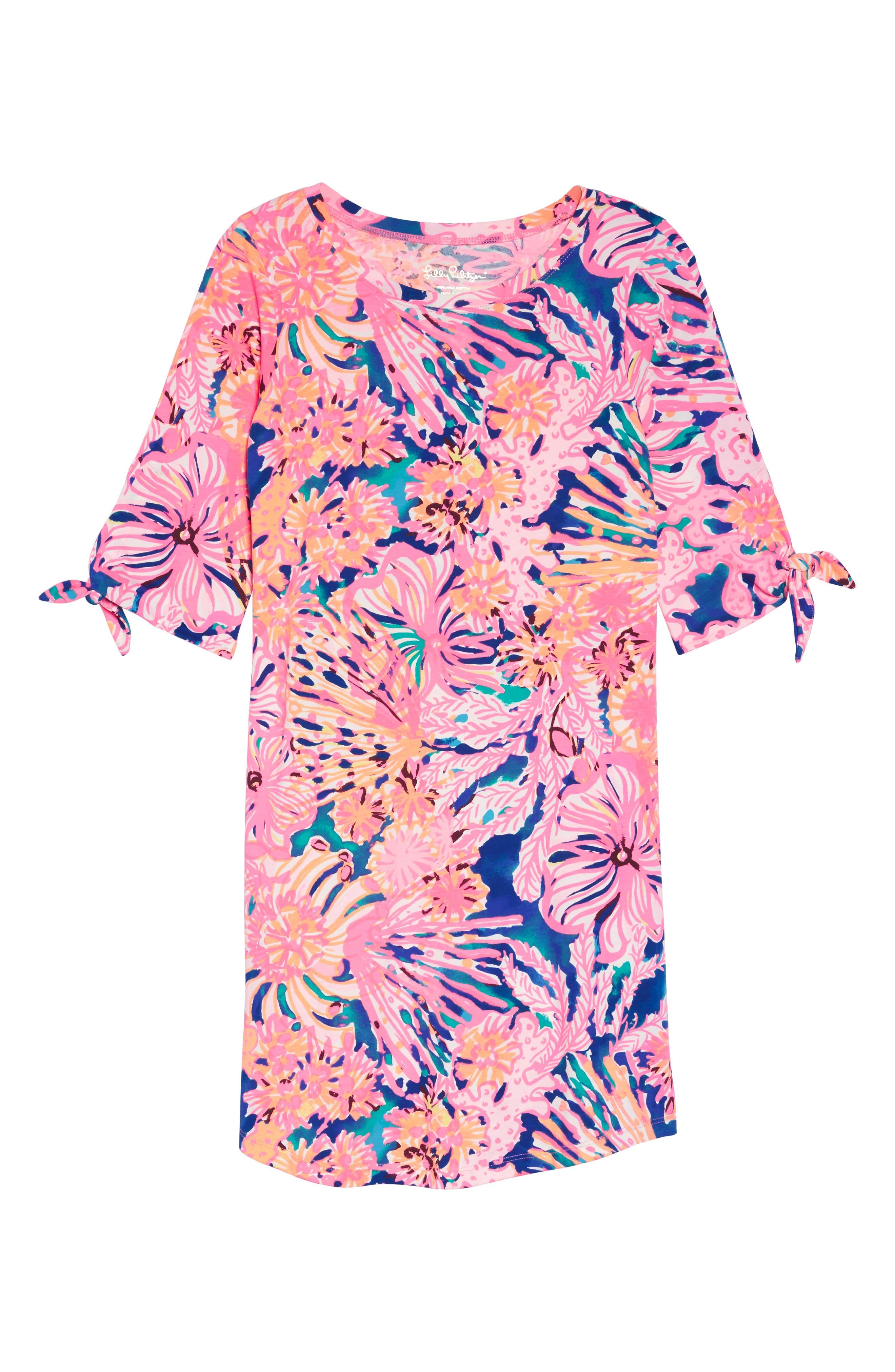 Preston Shift Dress,                             Alternate thumbnail 7, color,                             999