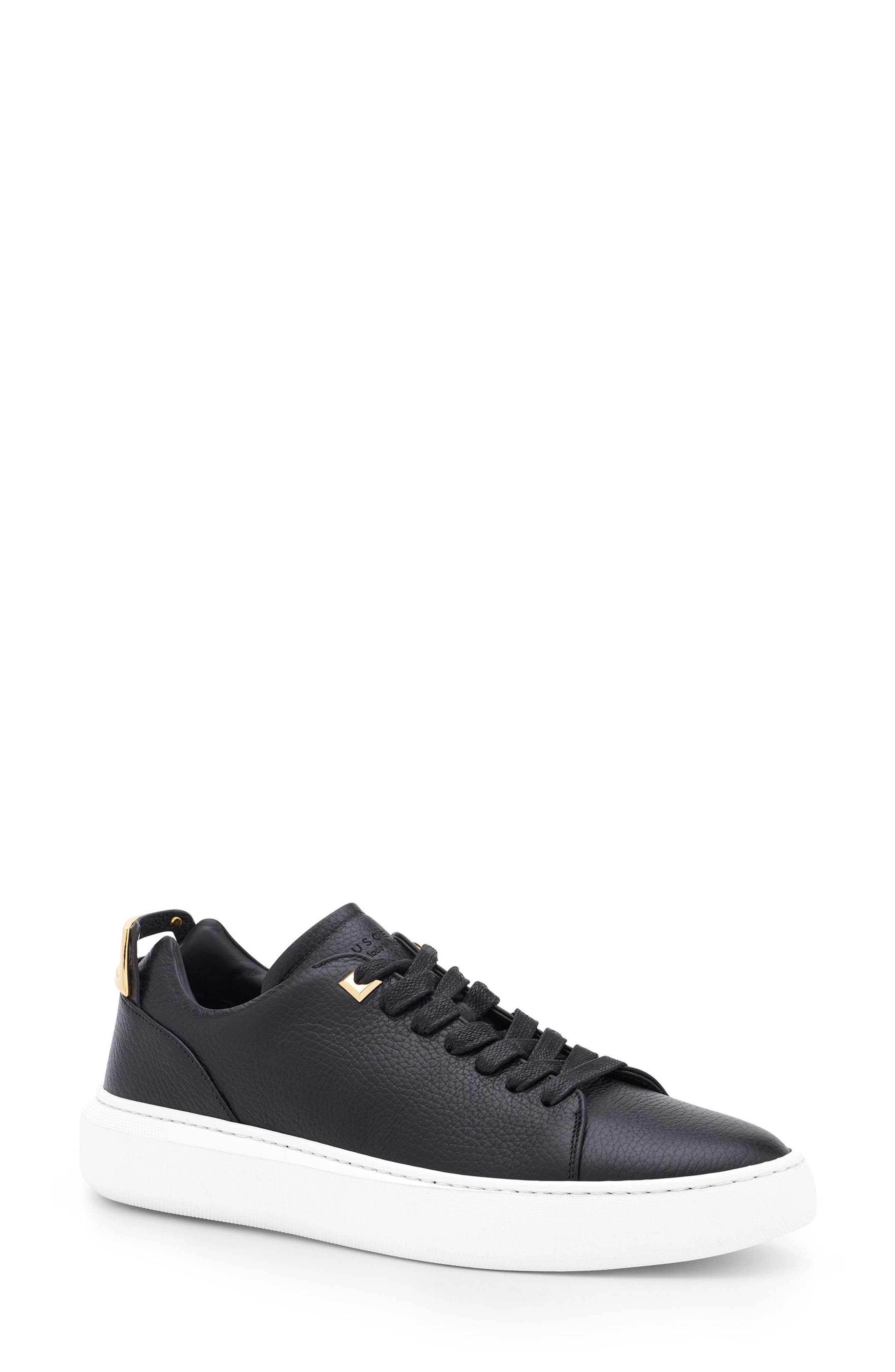 Uno Low Top Sneaker,                             Main thumbnail 1, color,                             001