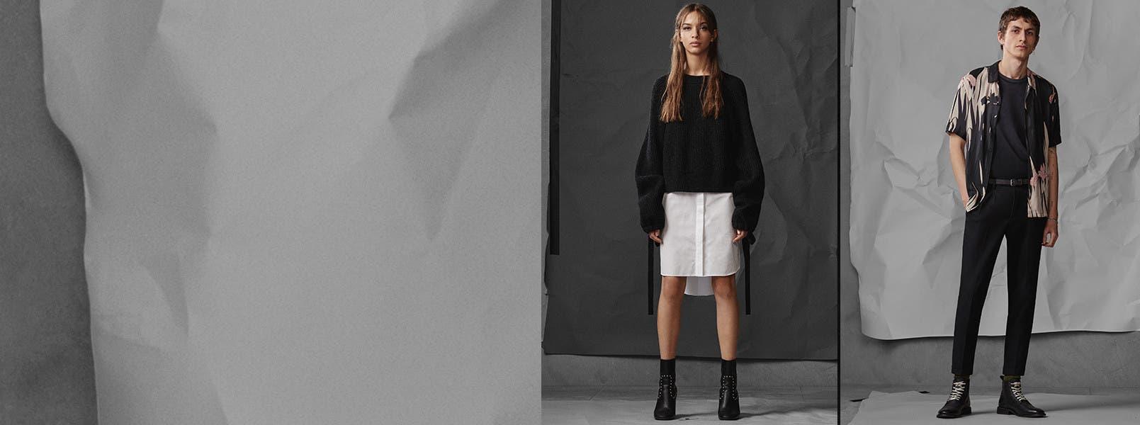 Introducing ALLSAINTS apparel.