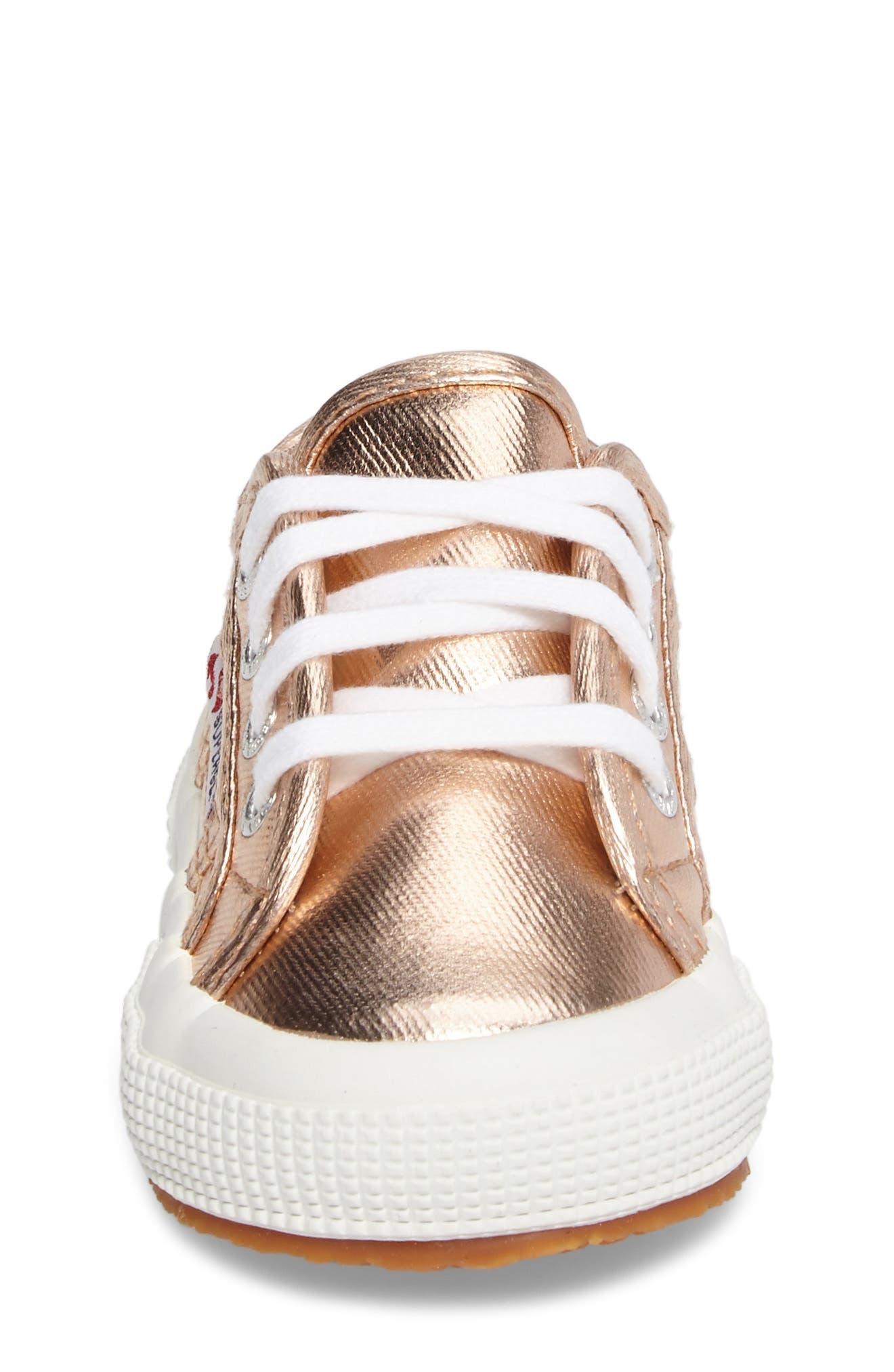 Metallic Sneaker,                             Alternate thumbnail 7, color,