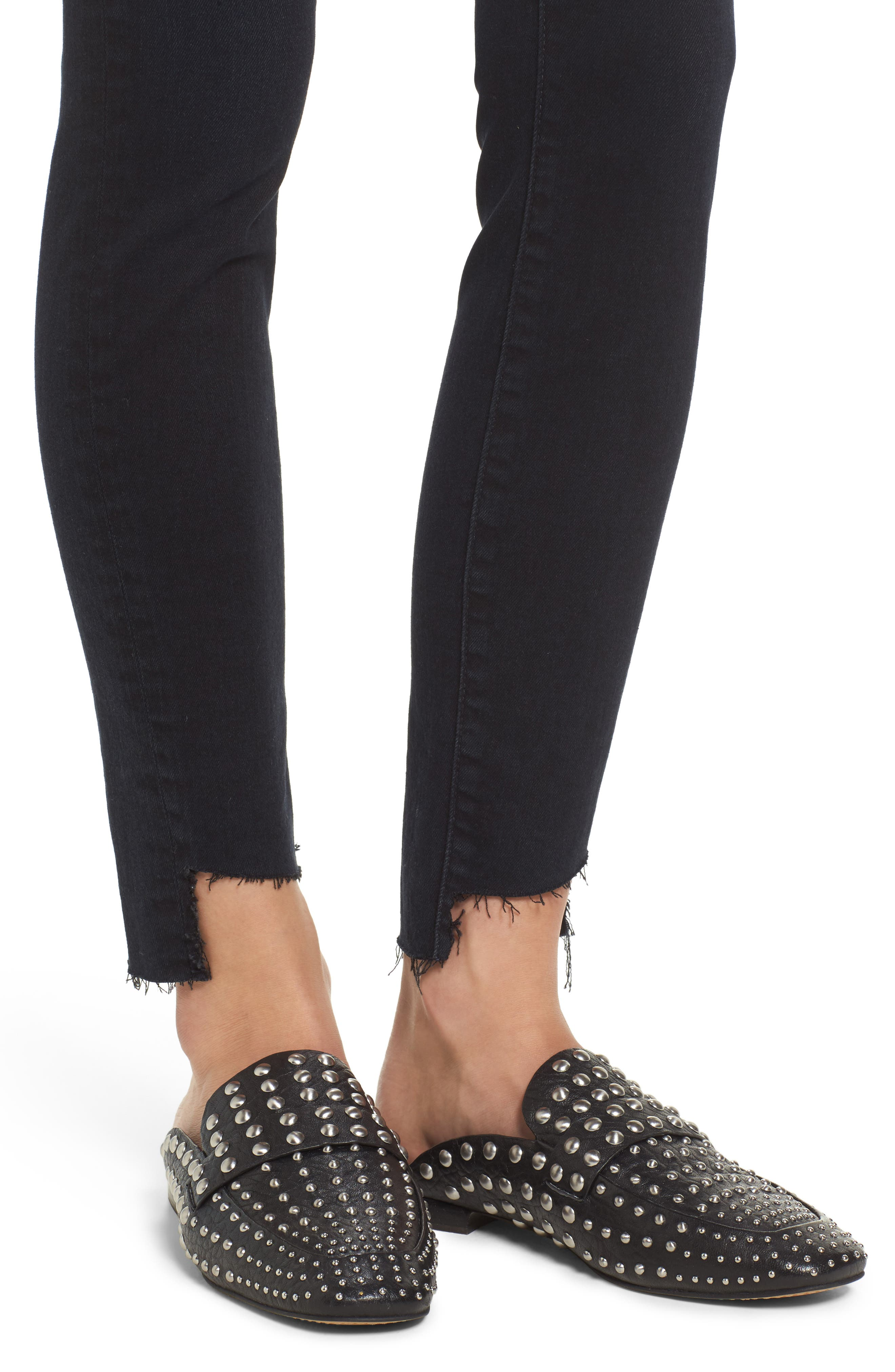 The High Waist Stiletto Ankle Skinny Jeans,                             Alternate thumbnail 4, color,                             418