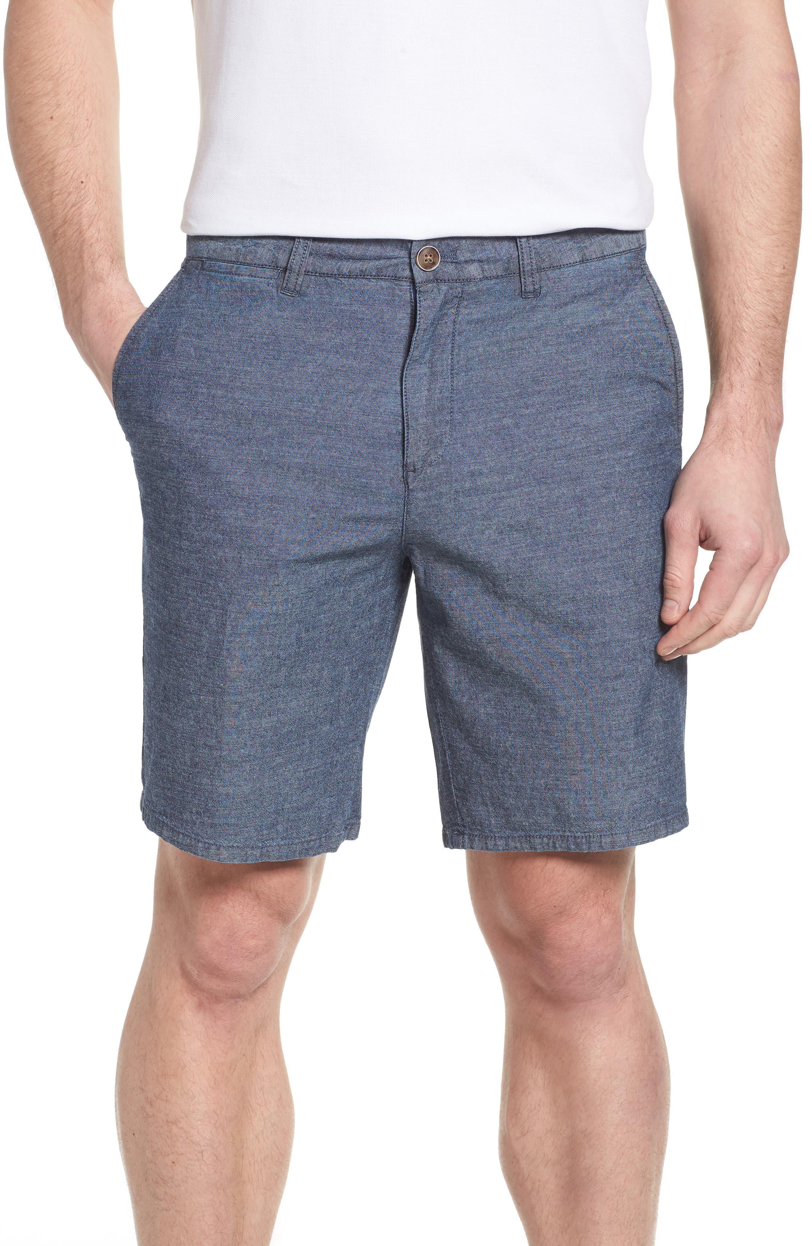 JOHNNIE-O Perkins Regular Fit Shorts, Main, color, 400
