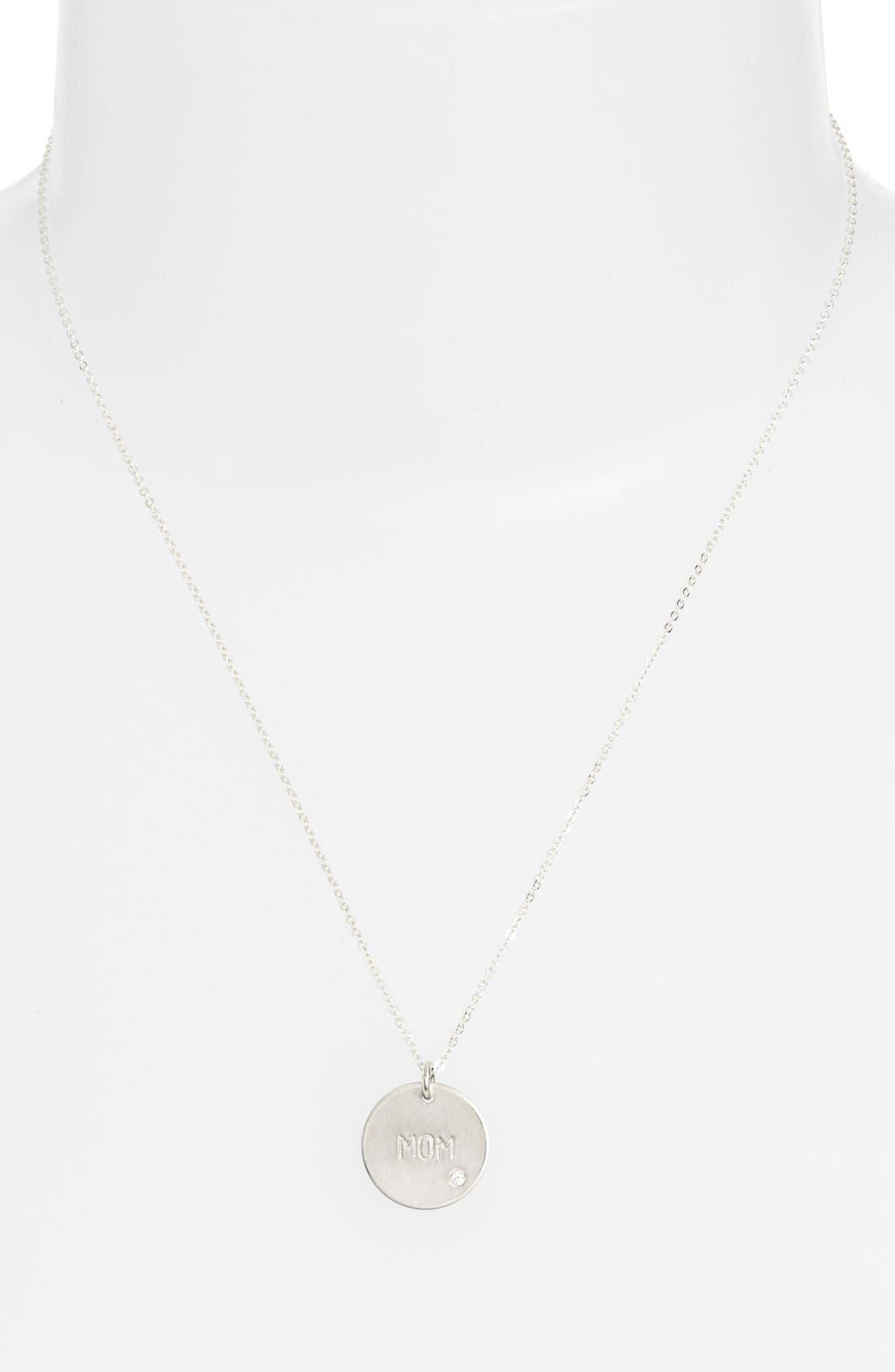Diamond Pendant Necklace,                             Alternate thumbnail 5, color,