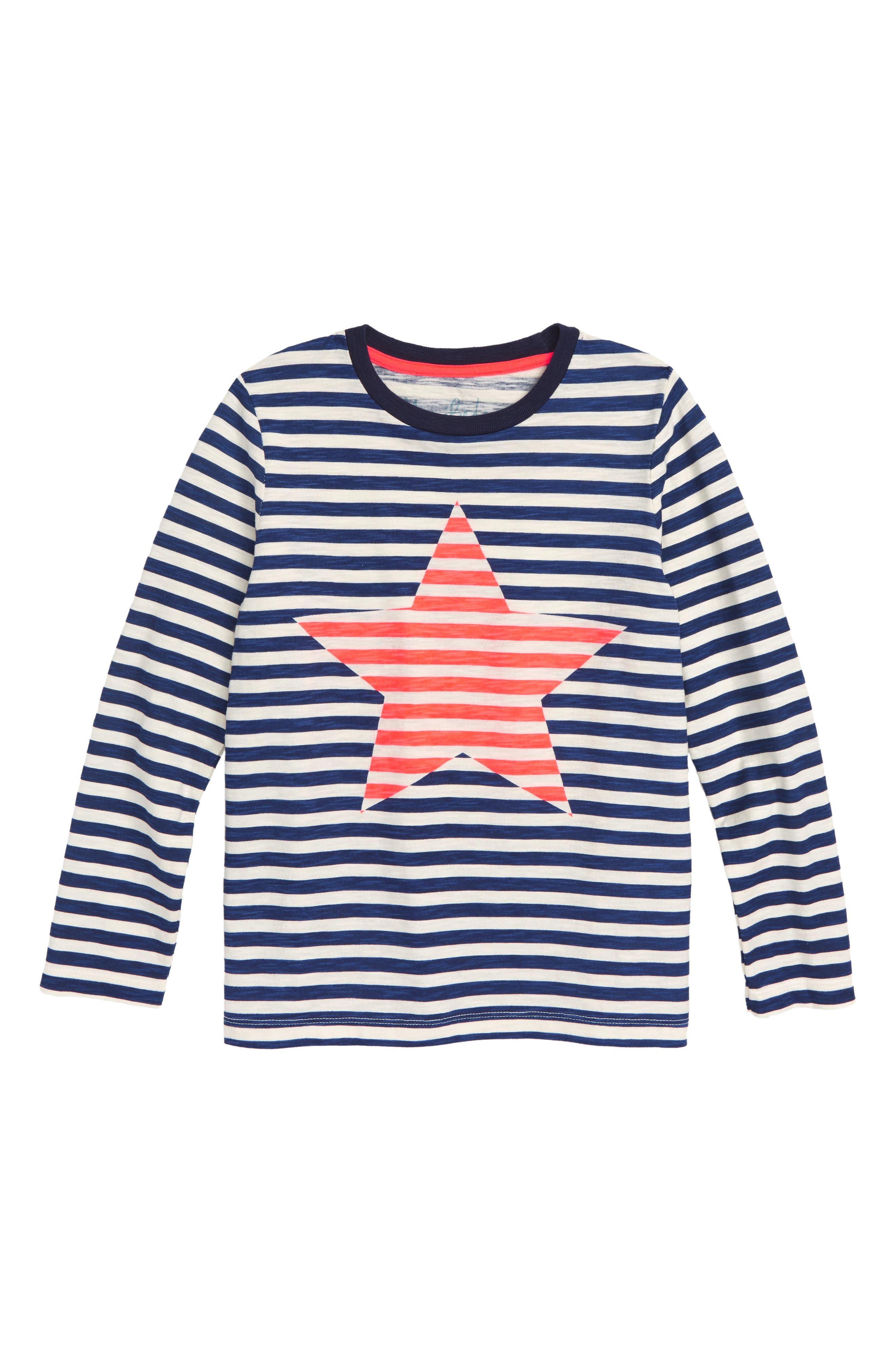 Stripy Icon Stripe T-Shirt,                             Main thumbnail 1, color,                             414