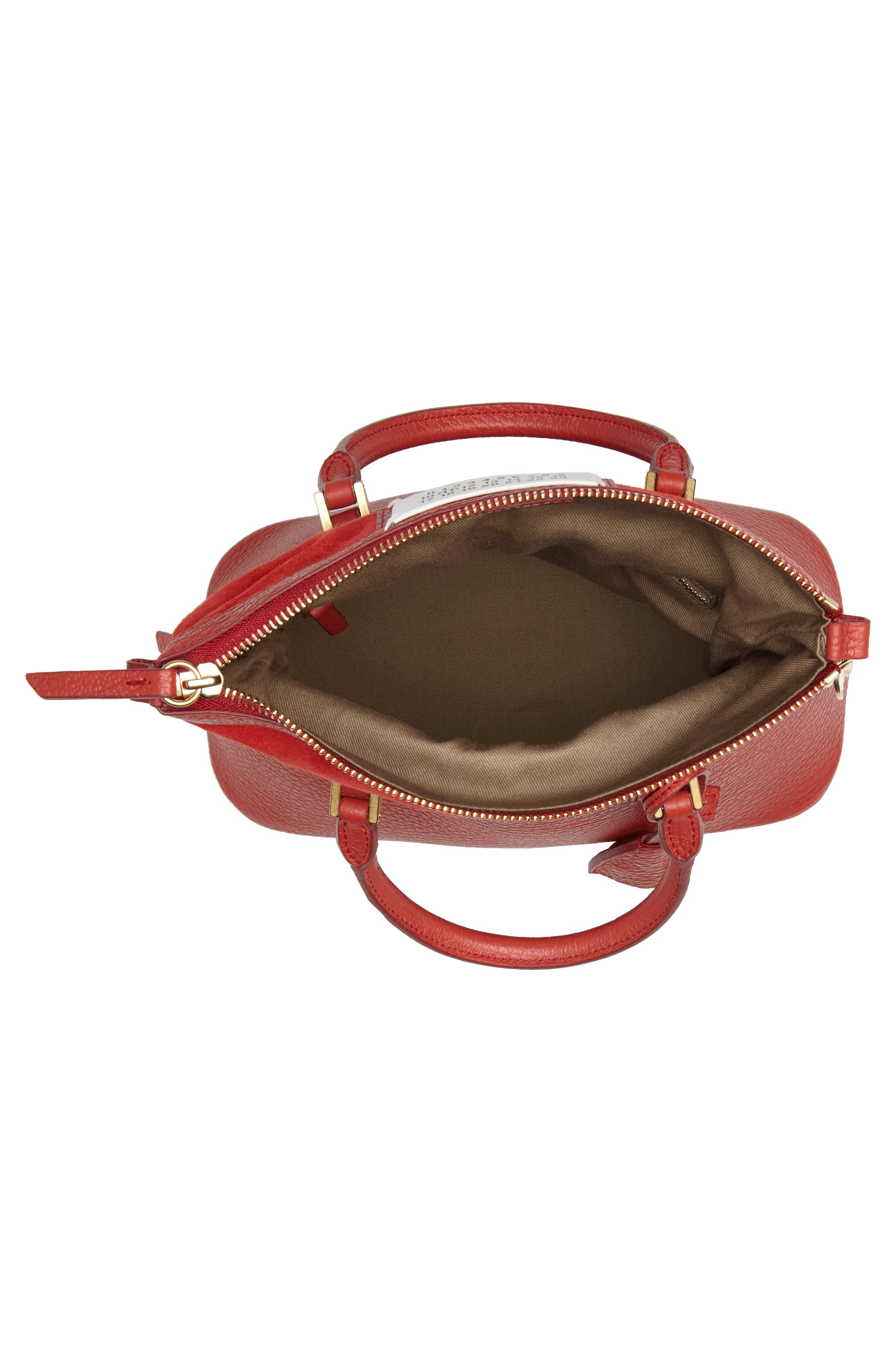 Small 5AC Calfskin Leather Handbag,                             Alternate thumbnail 5, color,                             600