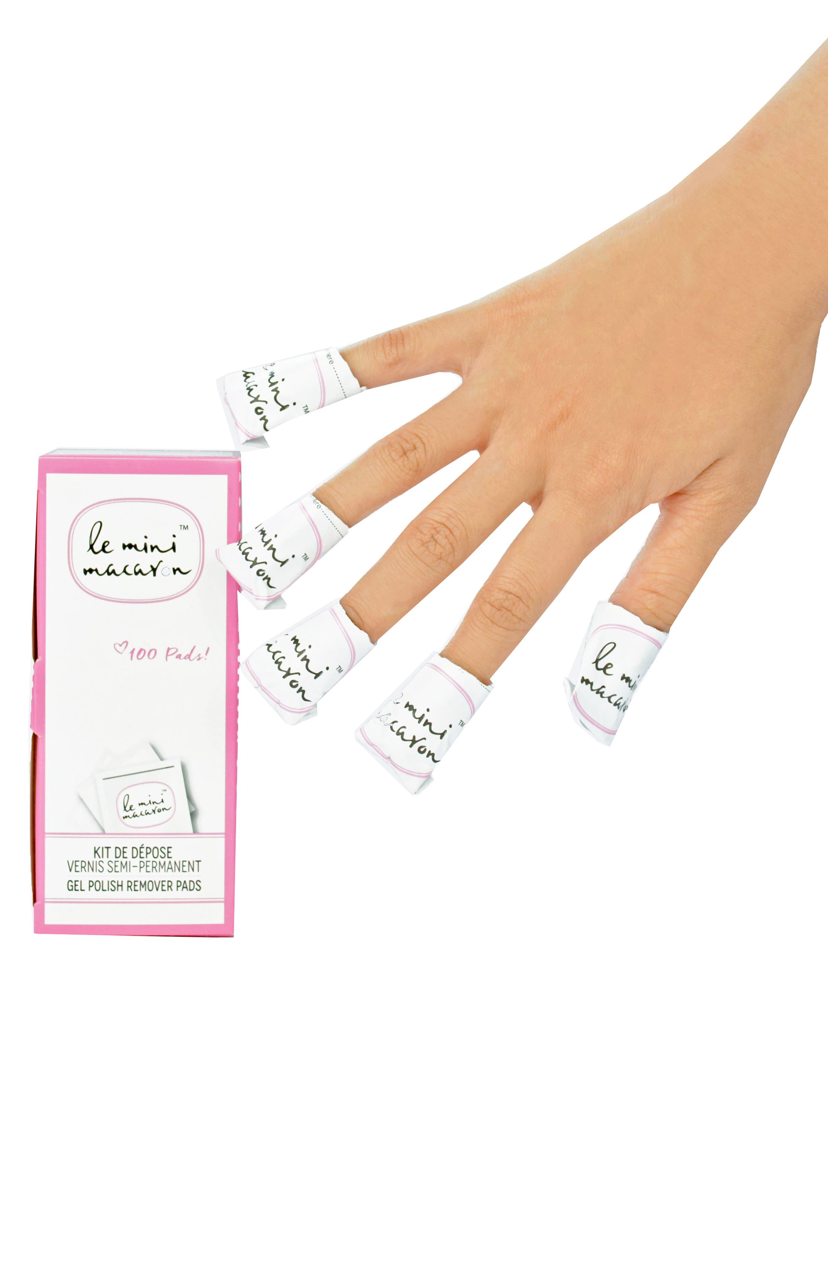 Set of 100 Gel Manicure Remover Pads,                             Alternate thumbnail 3, color,                             100
