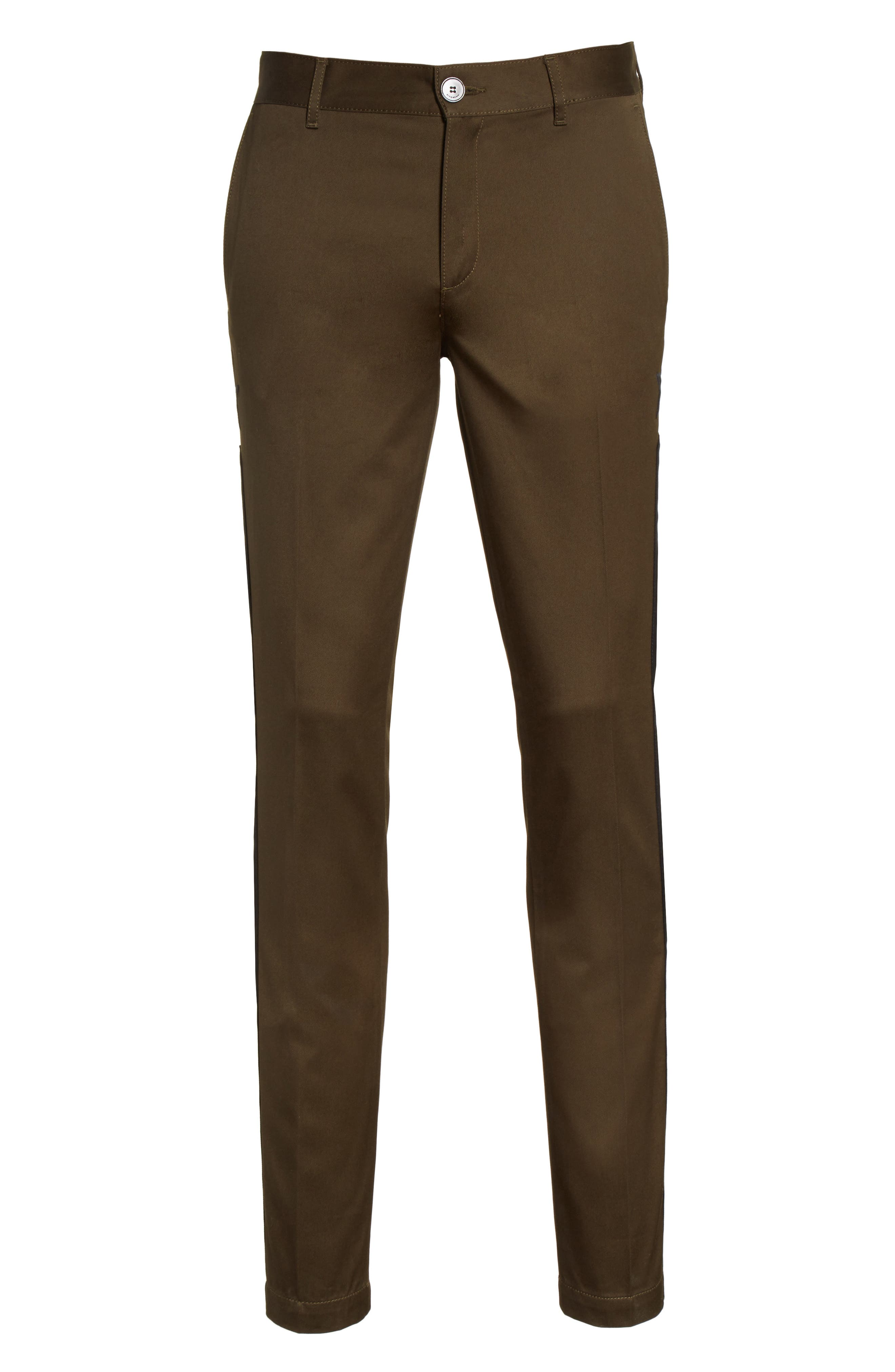 Tapered Leg Chinos,                             Alternate thumbnail 6, color,                             250