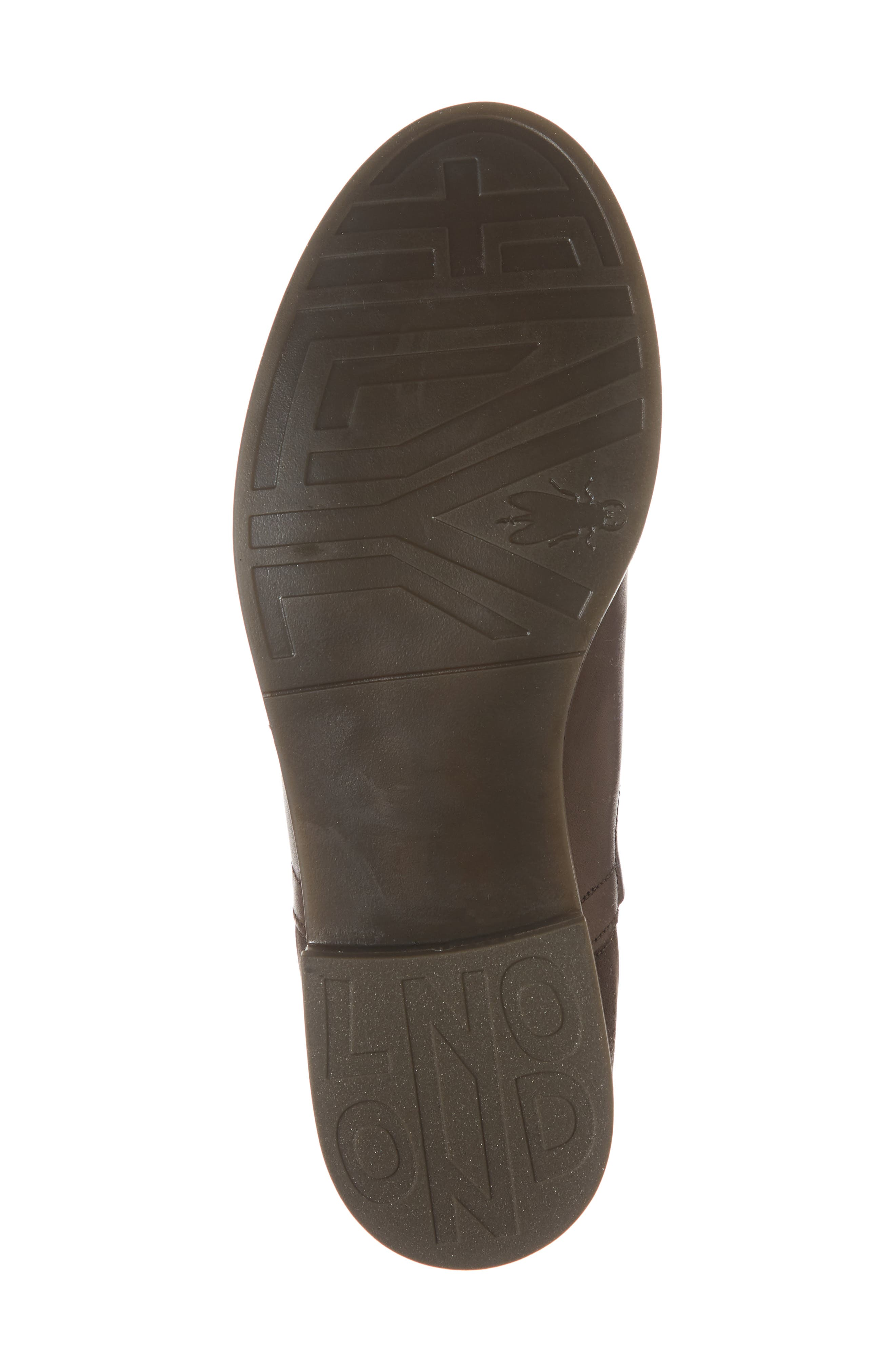 Alls Chelsea Bootie,                             Alternate thumbnail 6, color,                             DARK BROWN LEATHER