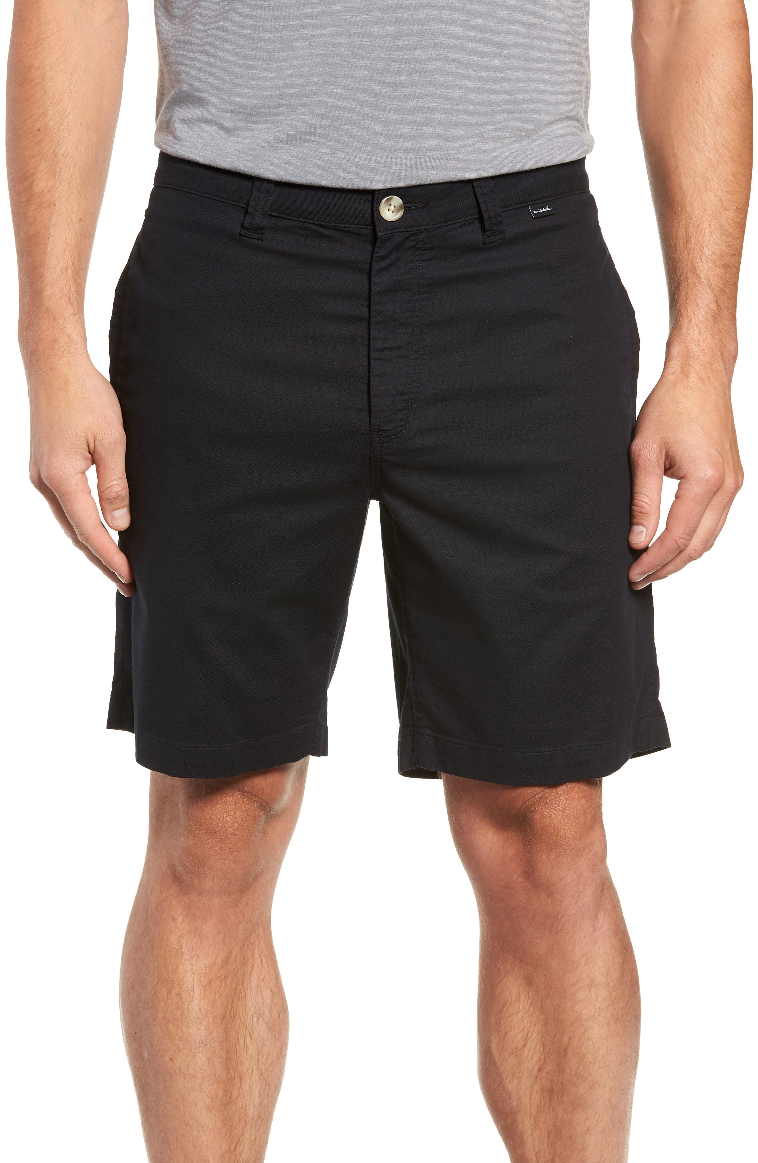 Swearengen Shorts,                         Main,                         color, BLACK