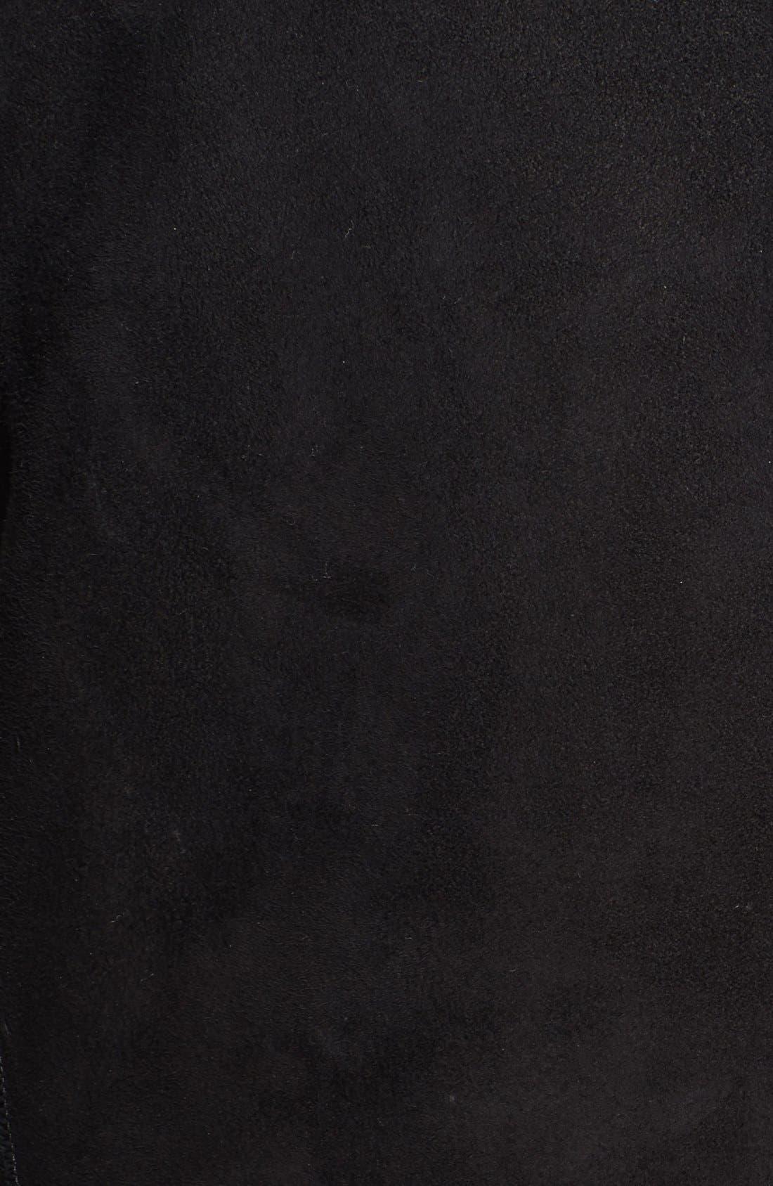 VINCE,                             Genuine Lamb Shearling Vest,                             Main thumbnail 1, color,                             003