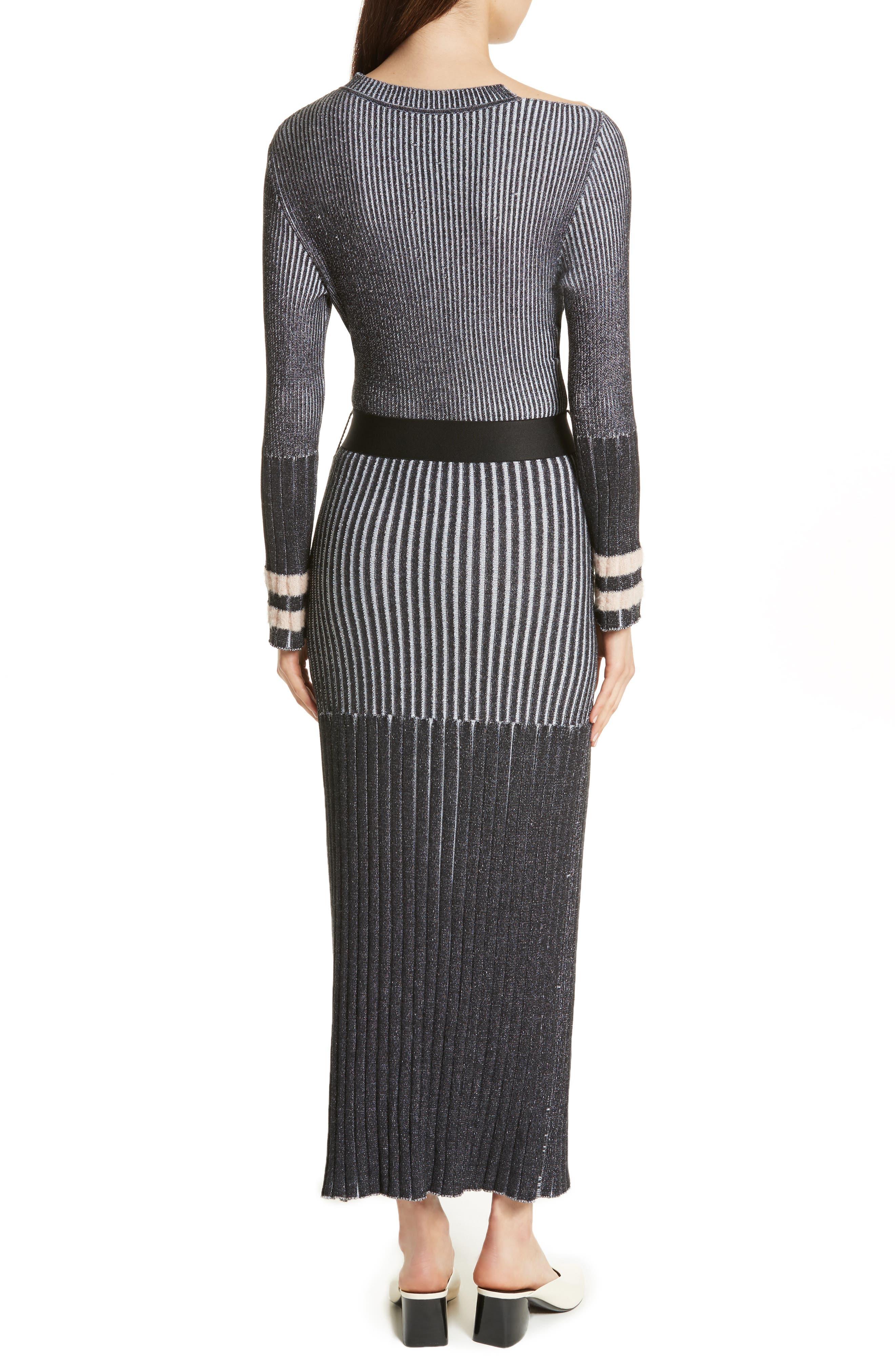 Urge Maxi Sweater Dress,                             Alternate thumbnail 2, color,                             001