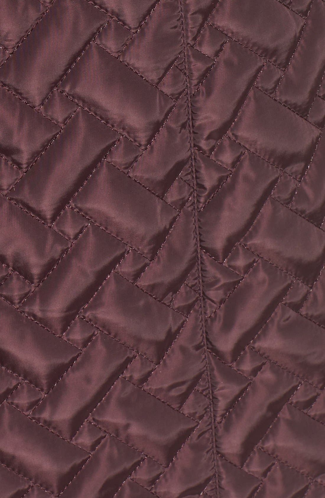 Belted Quilted Coat,                             Alternate thumbnail 31, color,