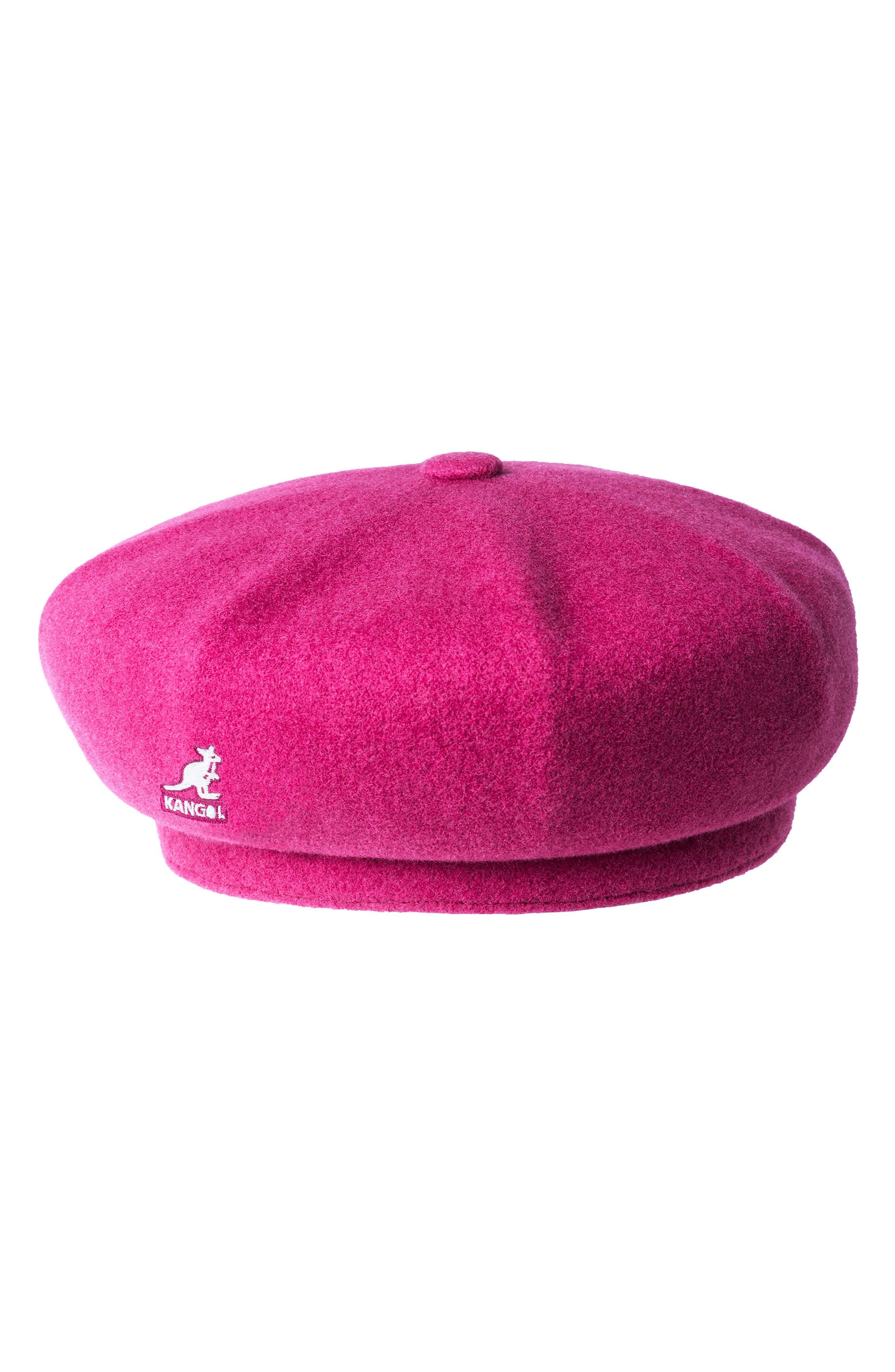 KANGOL Jax Beret - Pink in Garnet