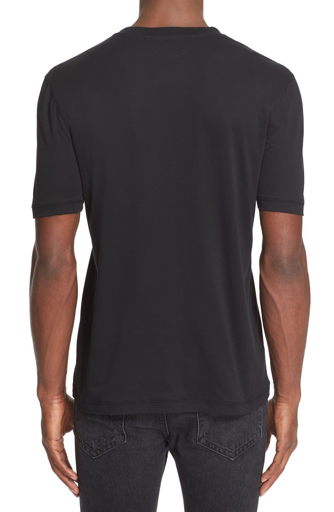Heritage T-Shirt,                             Alternate thumbnail 4, color,                             001