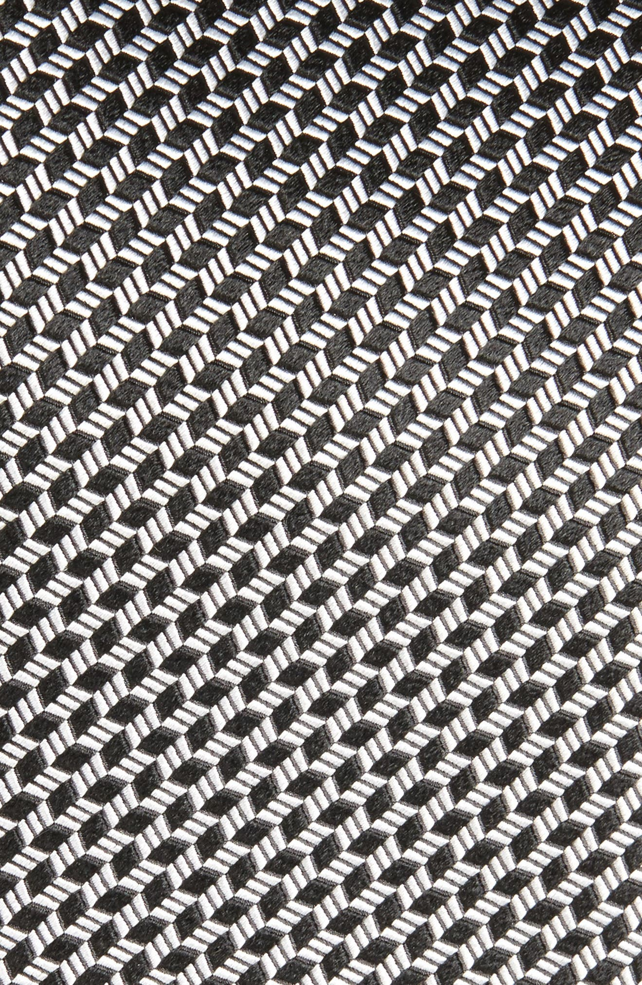Neat Silk Tie,                             Alternate thumbnail 2, color,                             001