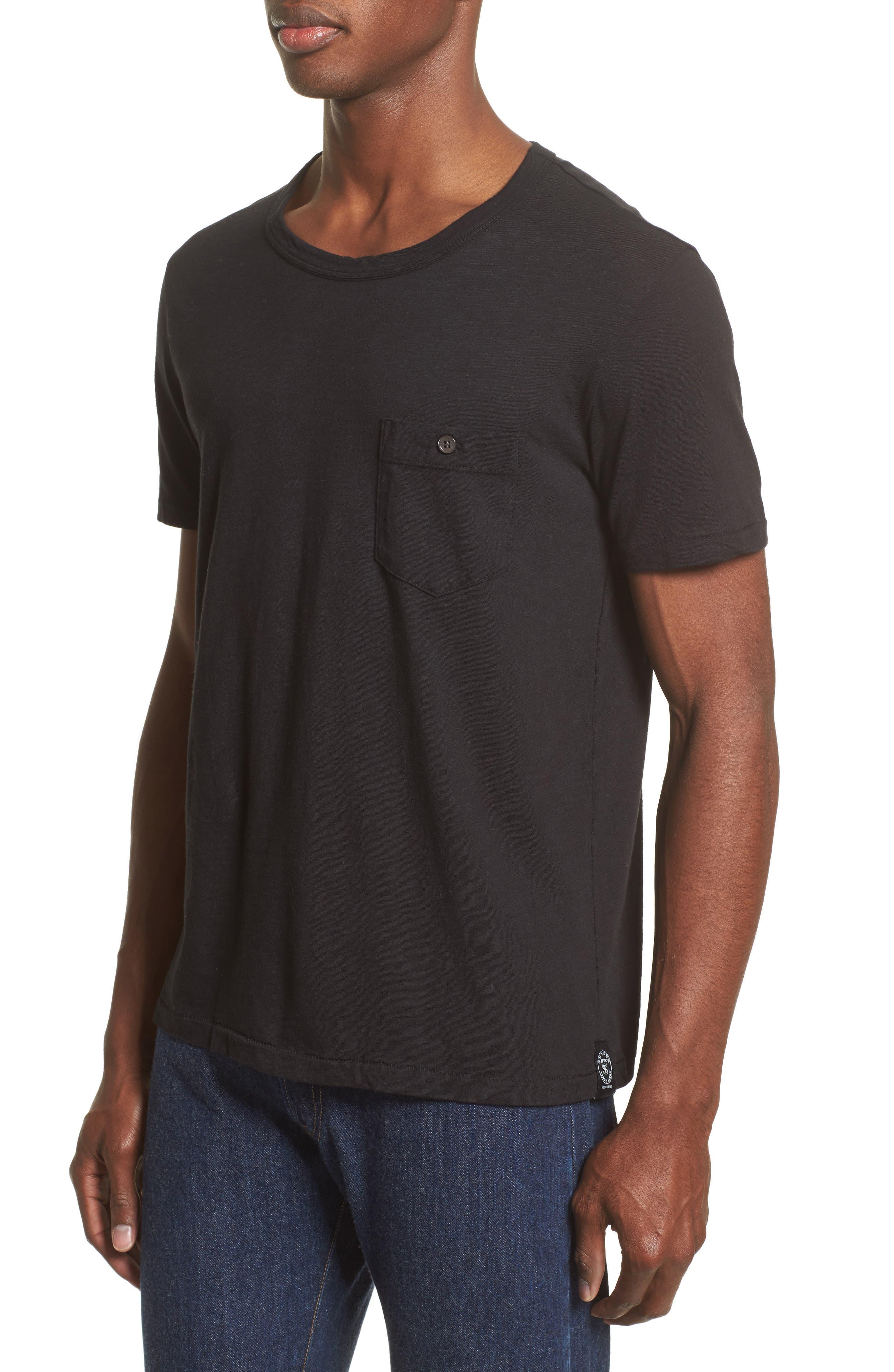 'Classic' Pocket T-Shirt,                             Alternate thumbnail 13, color,