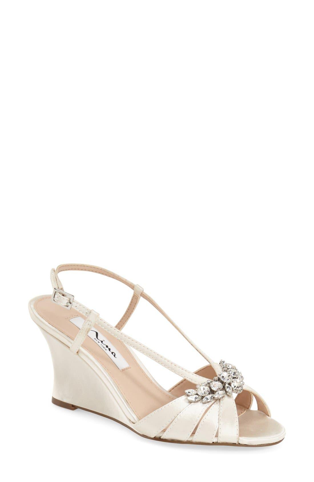 'Voleta' Wedge Sandal,                         Main,                         color, 900