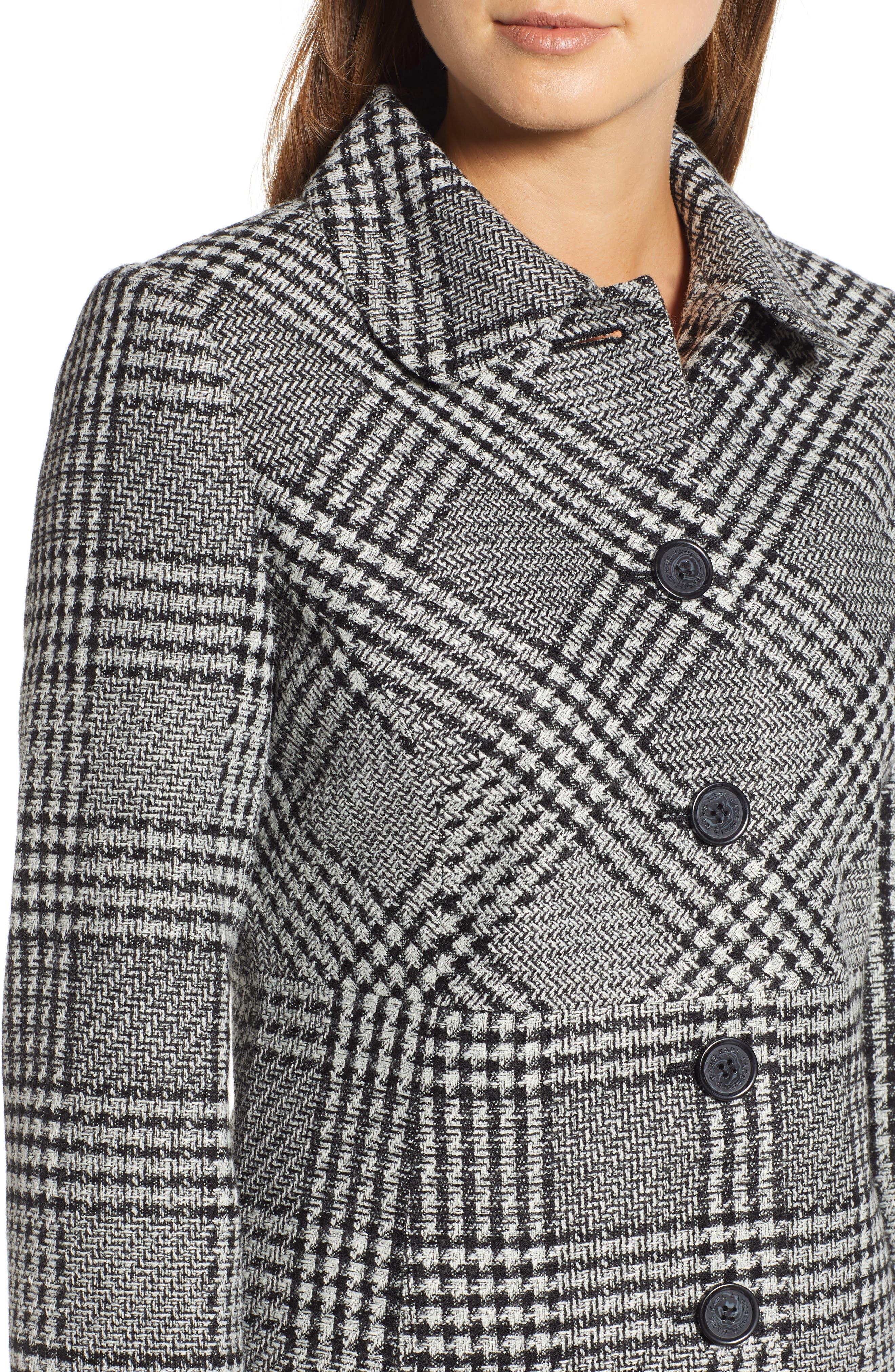 Tweed Topper Coat,                             Alternate thumbnail 4, color,                             006