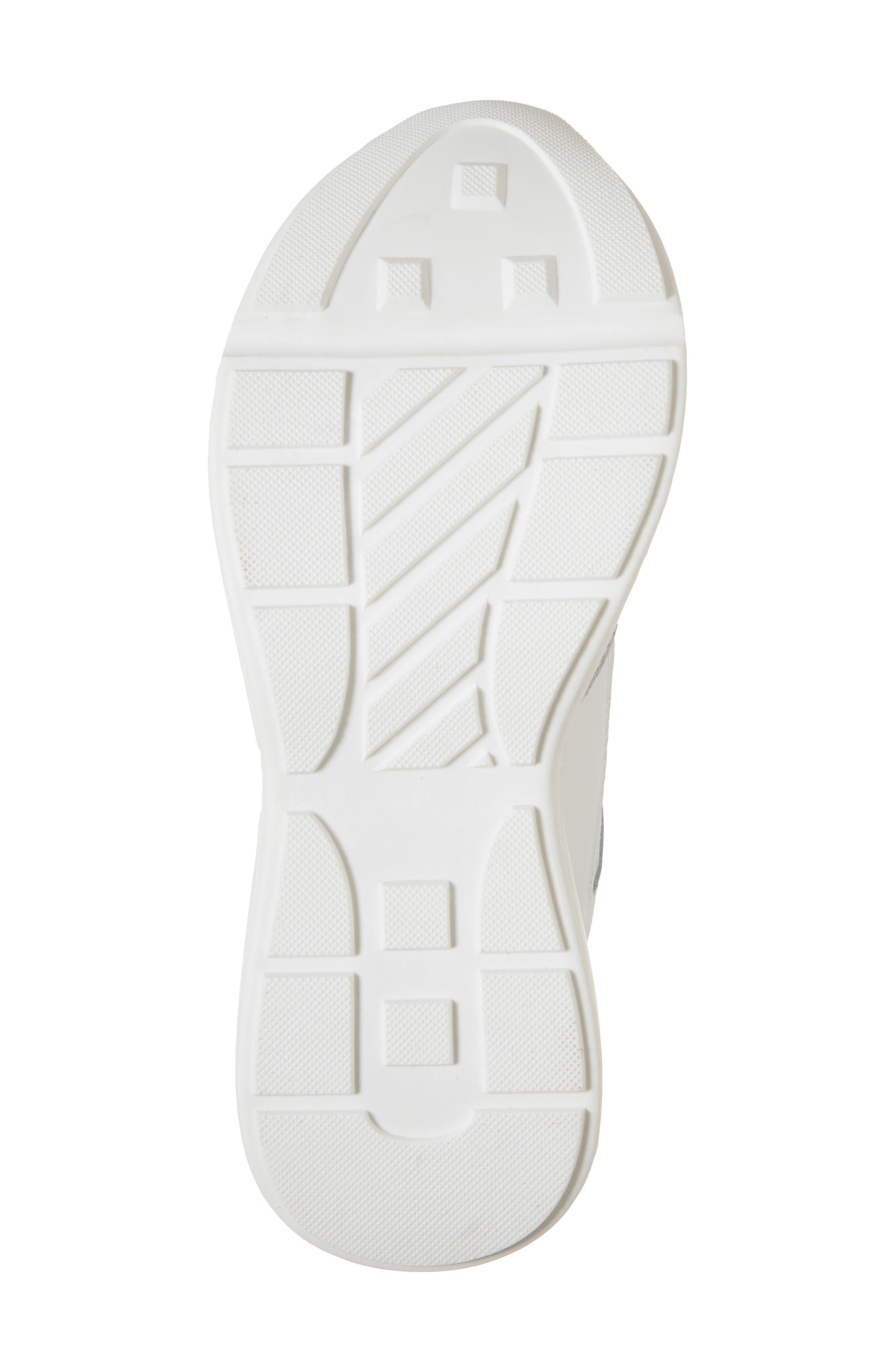 Memory Platform Wedge Sneaker,                             Alternate thumbnail 6, color,                             WHITE MULTI