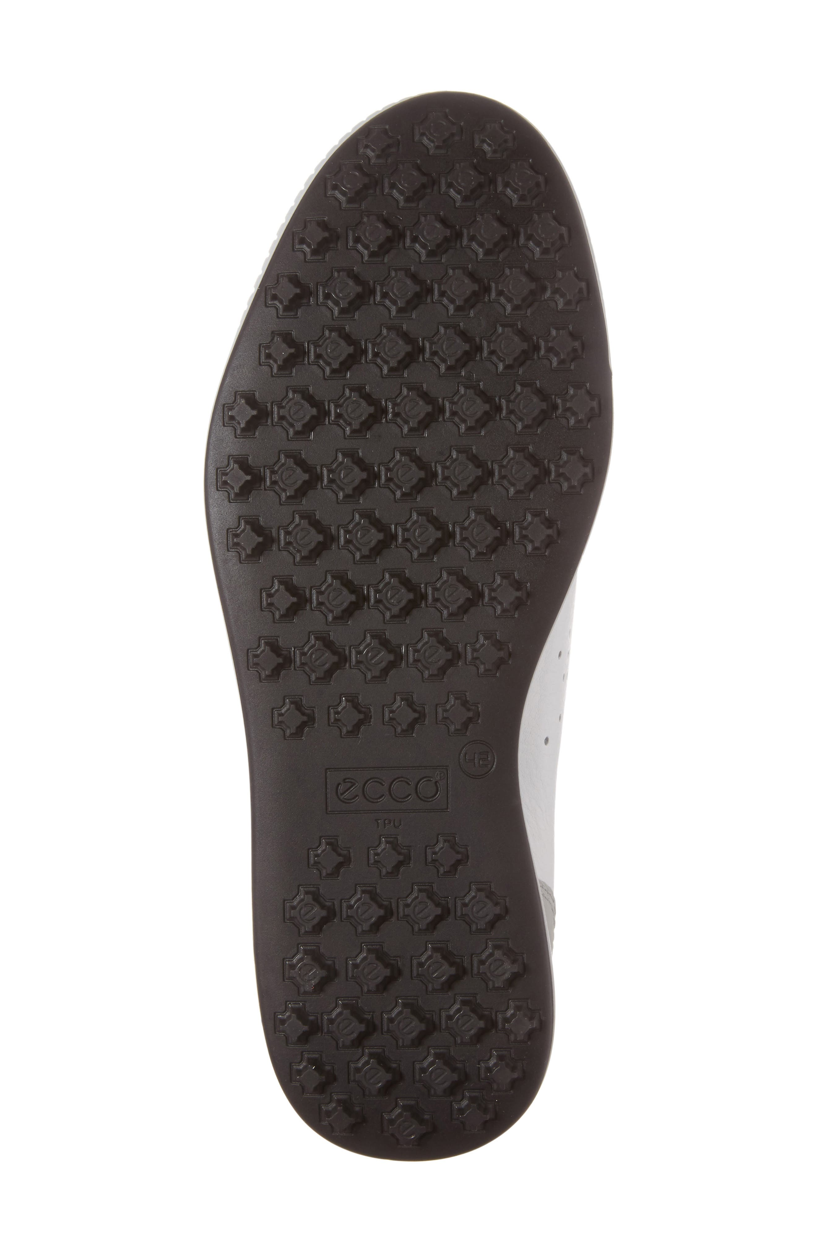 ECCO,                             Street Retro HM Golf Shoe,                             Alternate thumbnail 6, color,                             WHITE/ CONCRETE