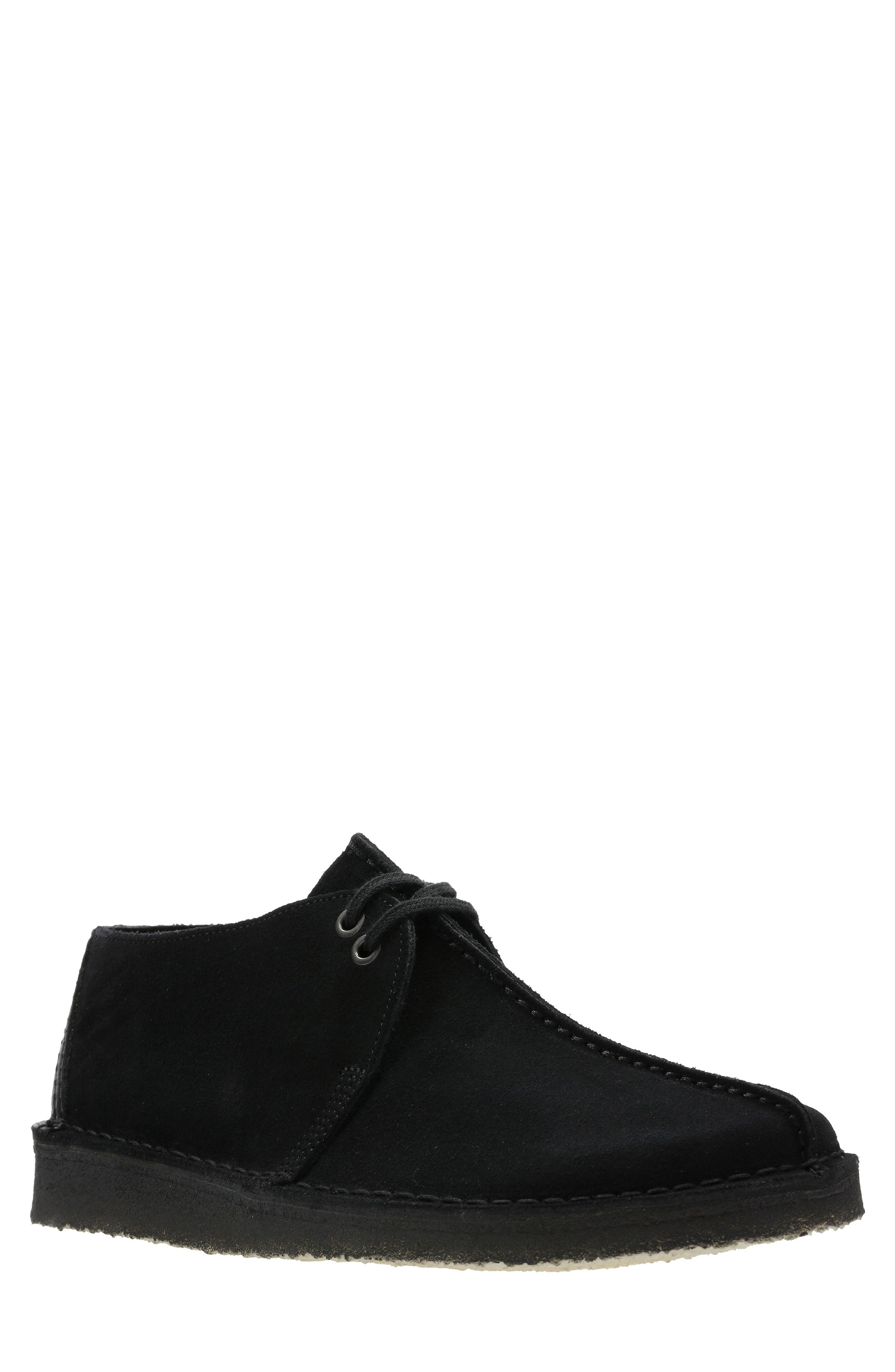 Originals 'Desert - Trek' Oxford,                             Main thumbnail 1, color,                             BLACK/BLACK SUEDE