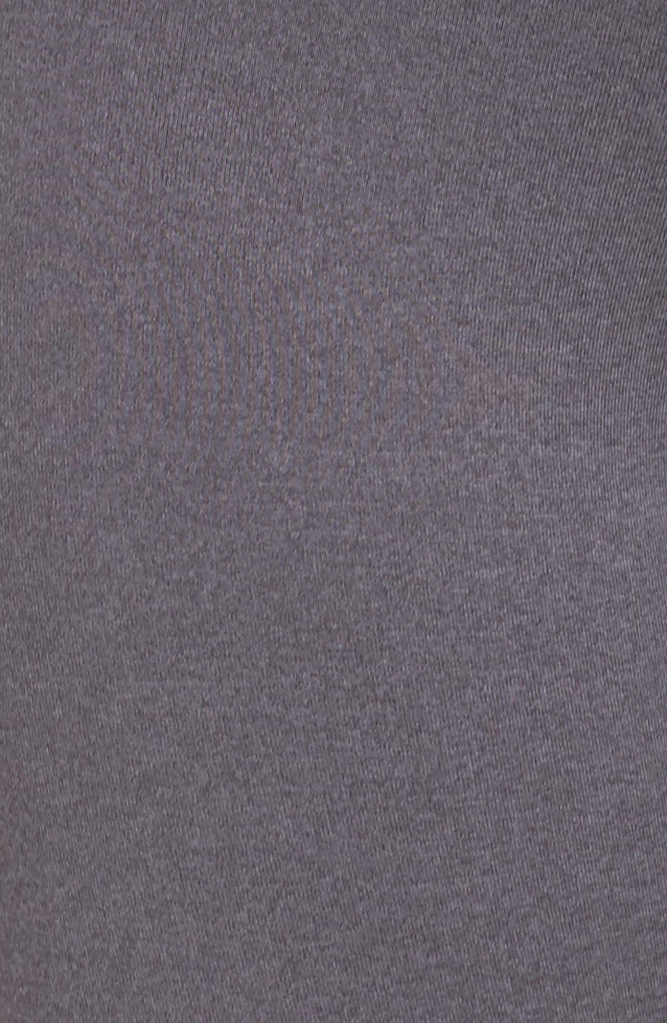 Elevate Midi Leggings,                             Alternate thumbnail 5, color,                             GRAPHITE MAJESTIC